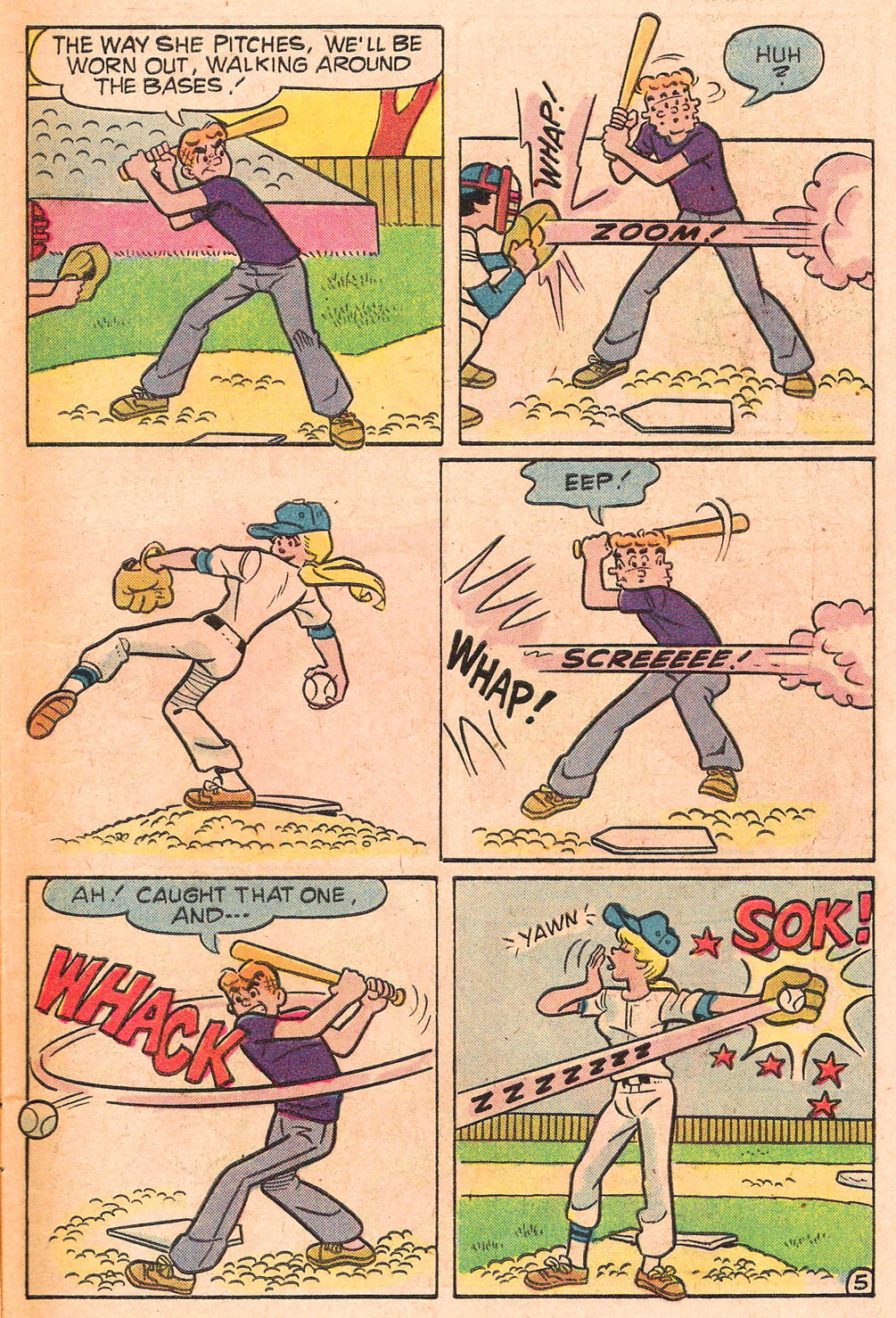Read online Archie's Girls Betty and Veronica comic -  Issue #271 - 7