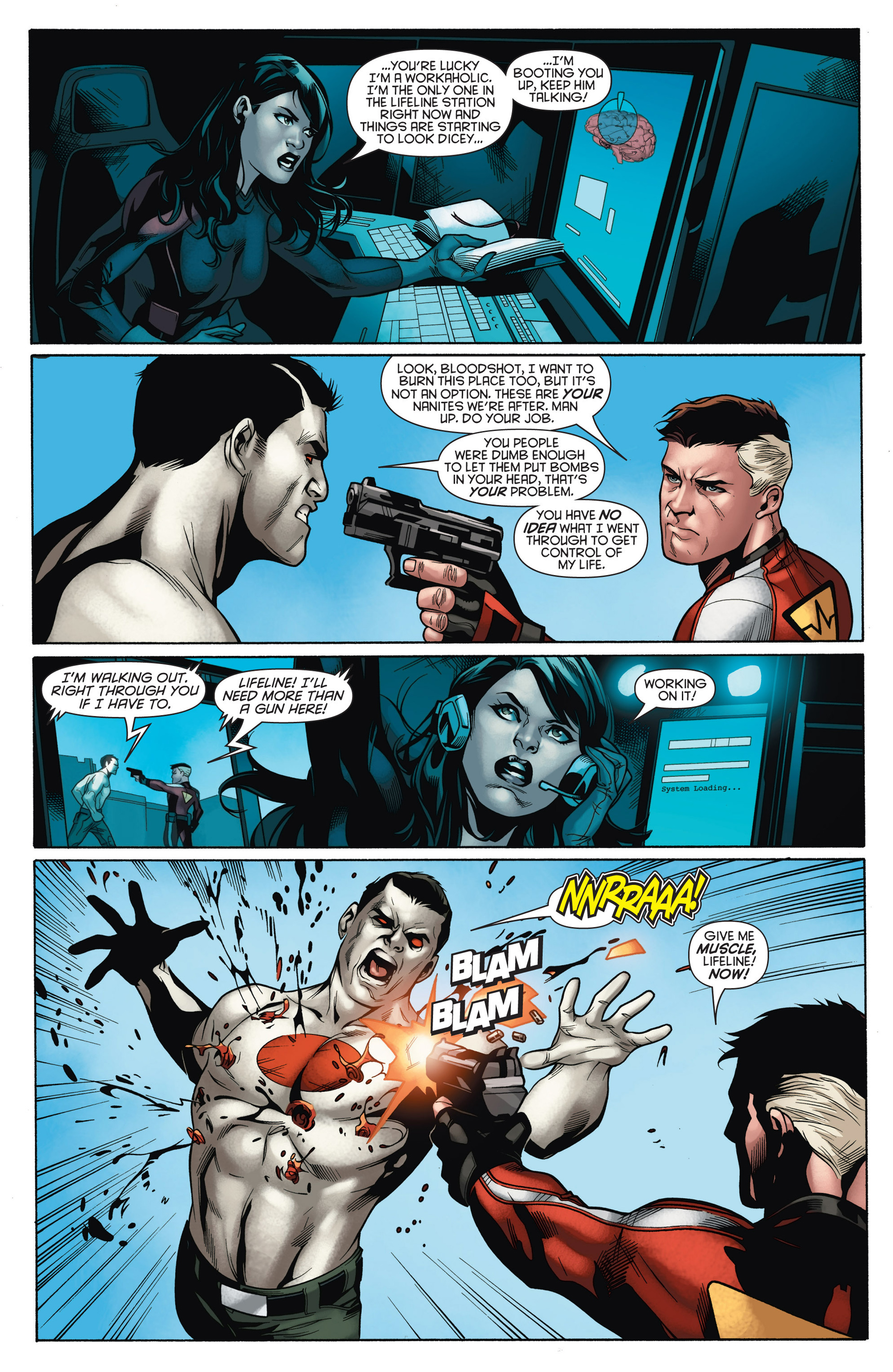 Read online Bloodshot and H.A.R.D.Corps comic -  Issue #15 - 18