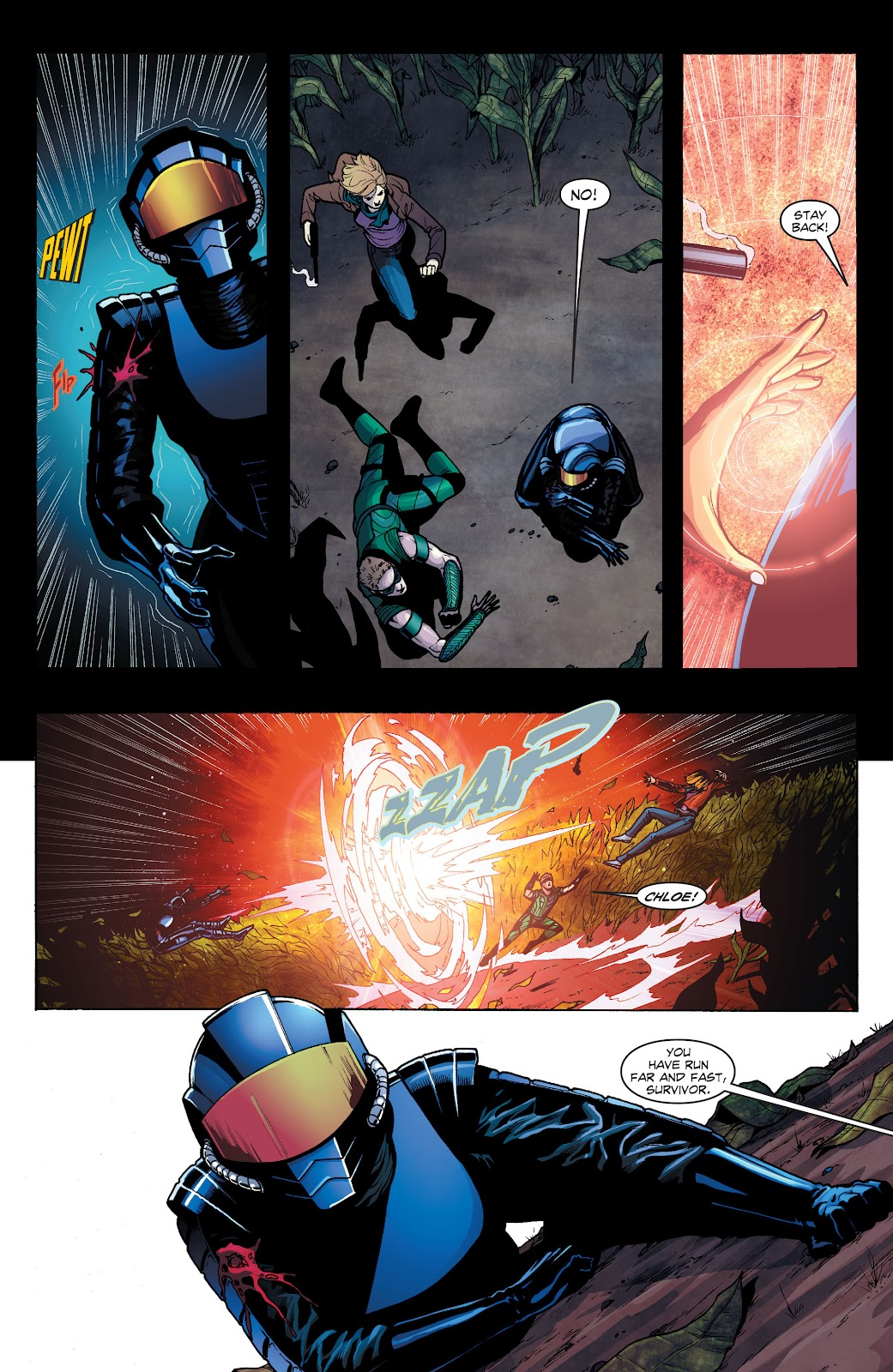 Read online Smallville Season 11 [II] comic -  Issue # TPB 1 - 120
