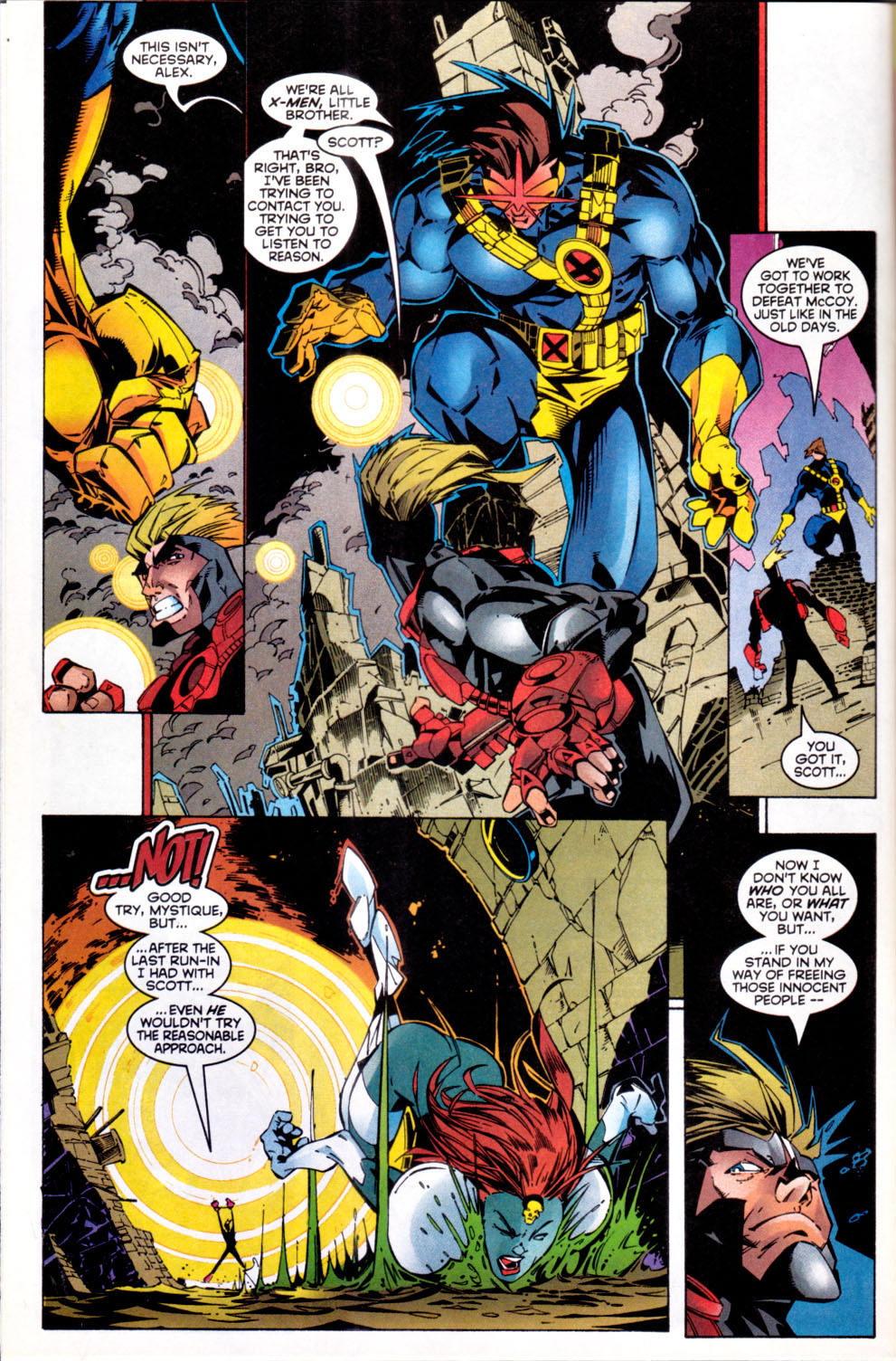 Read online X-Factor (1986) comic -  Issue #144 - 10