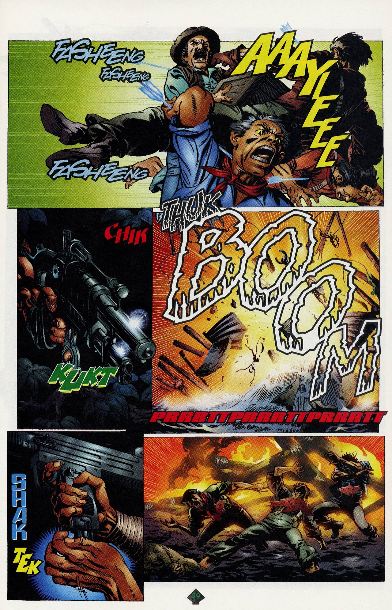 Read online Turok: Tales of the Lost Land comic -  Issue # Full - 26