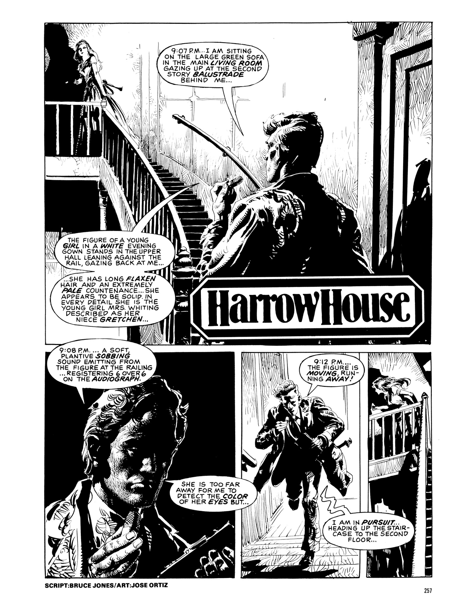 Read online Eerie Archives comic -  Issue # TPB 20 - 257