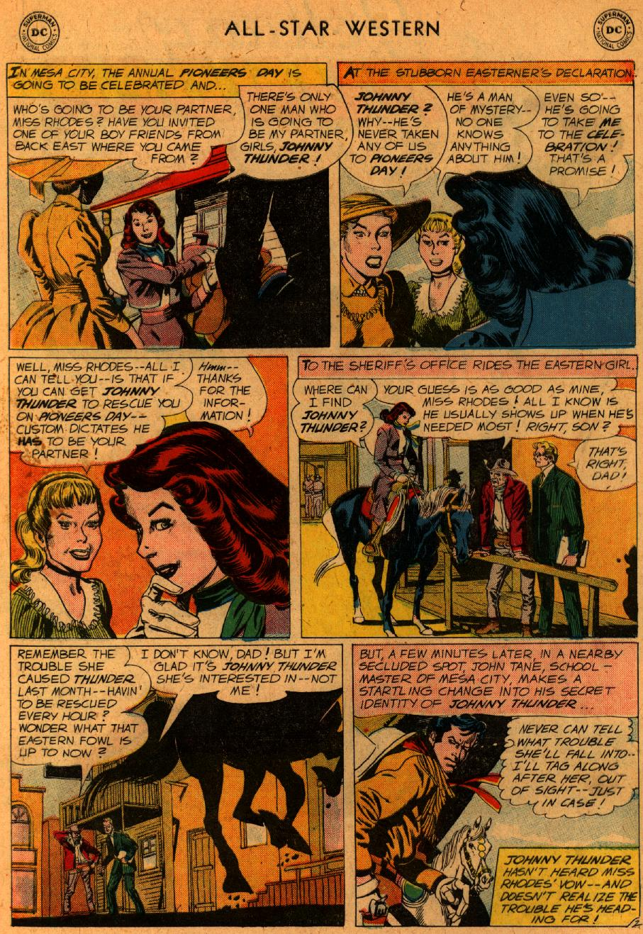 Read online All-Star Western (1951) comic -  Issue #107 - 4