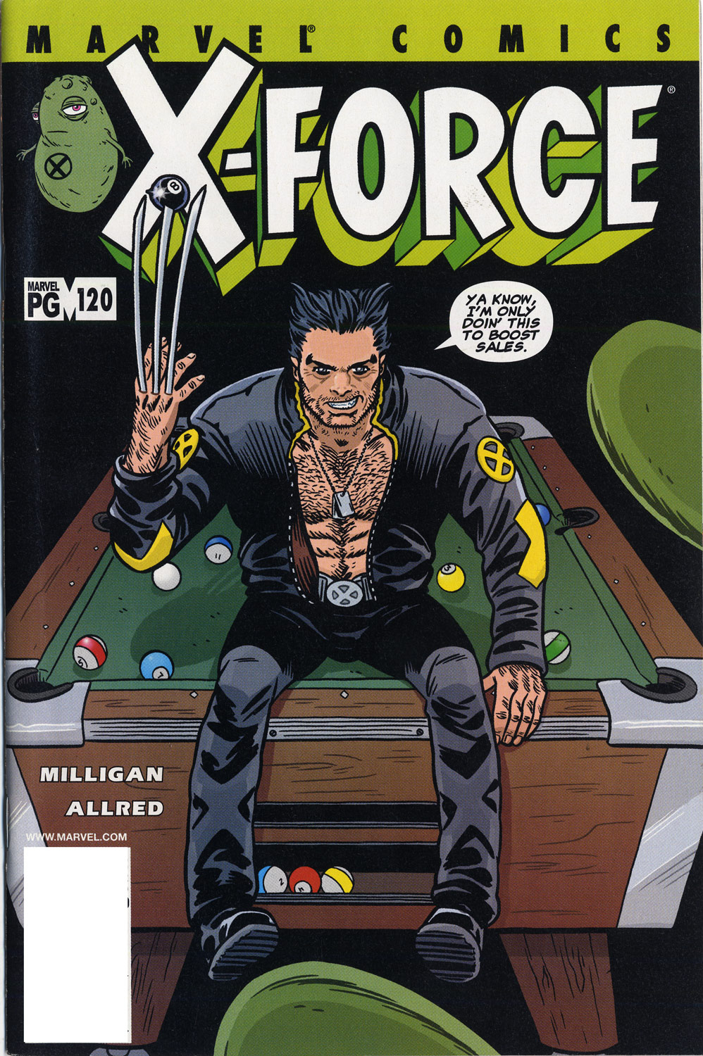 X-Force (1991) 120 Page 1