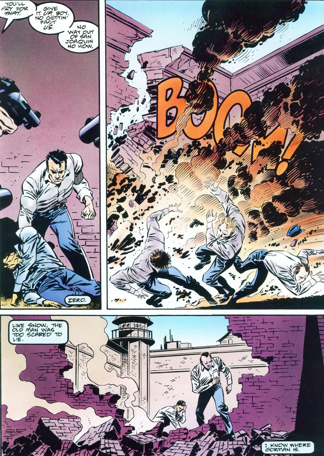 Epic Graphic Novel: The Punisher - Return to Big Nothing
