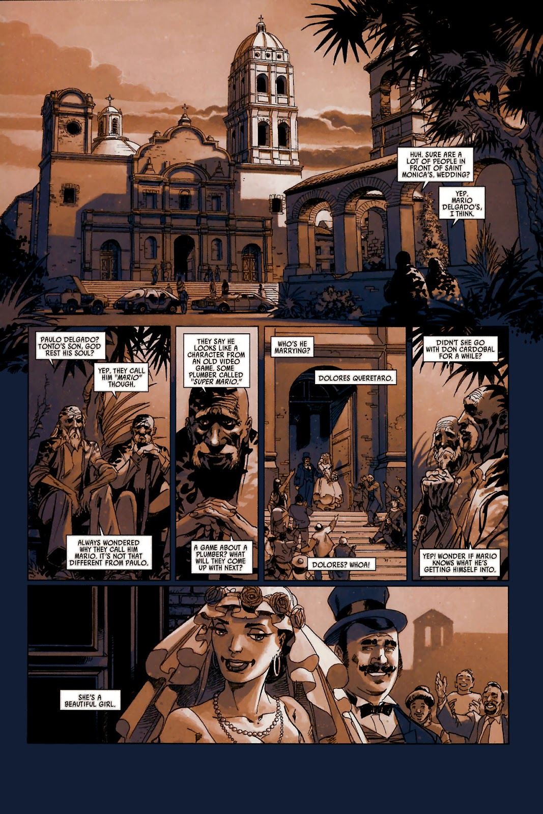 Read online Universal War One: Revelations comic -  Issue #1 - 6