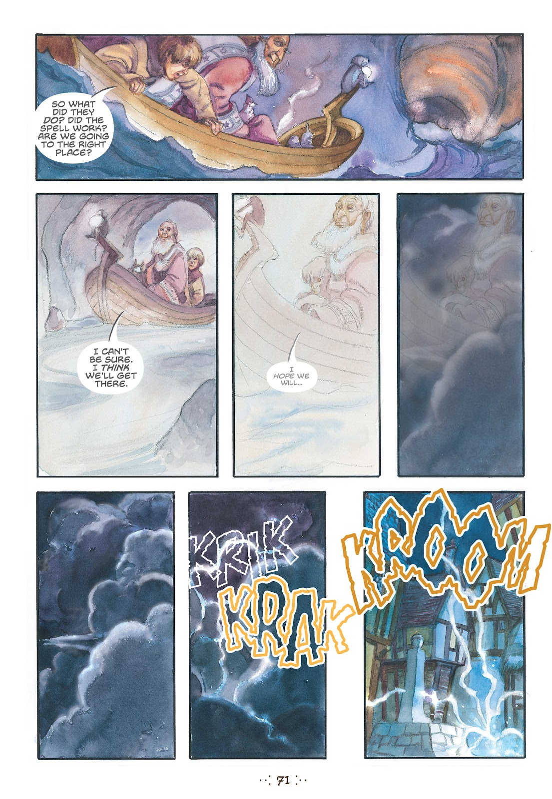 Read online The Wizard's Tale comic -  Issue # TPB - 68