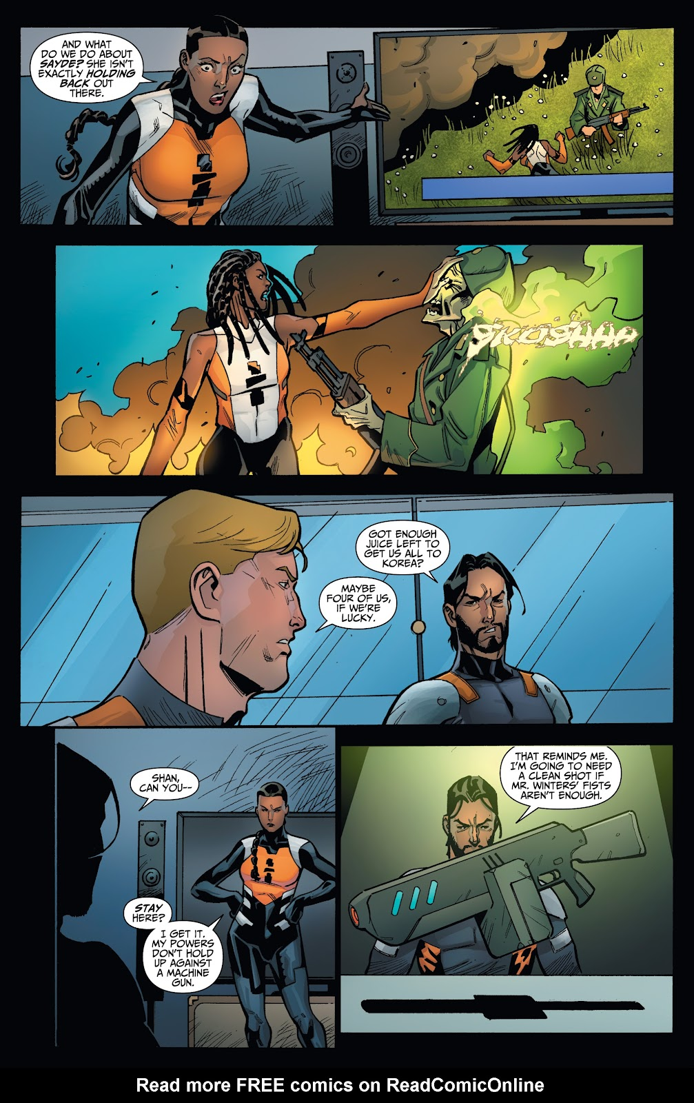 Read online Incidentals comic -  Issue #18 - 11
