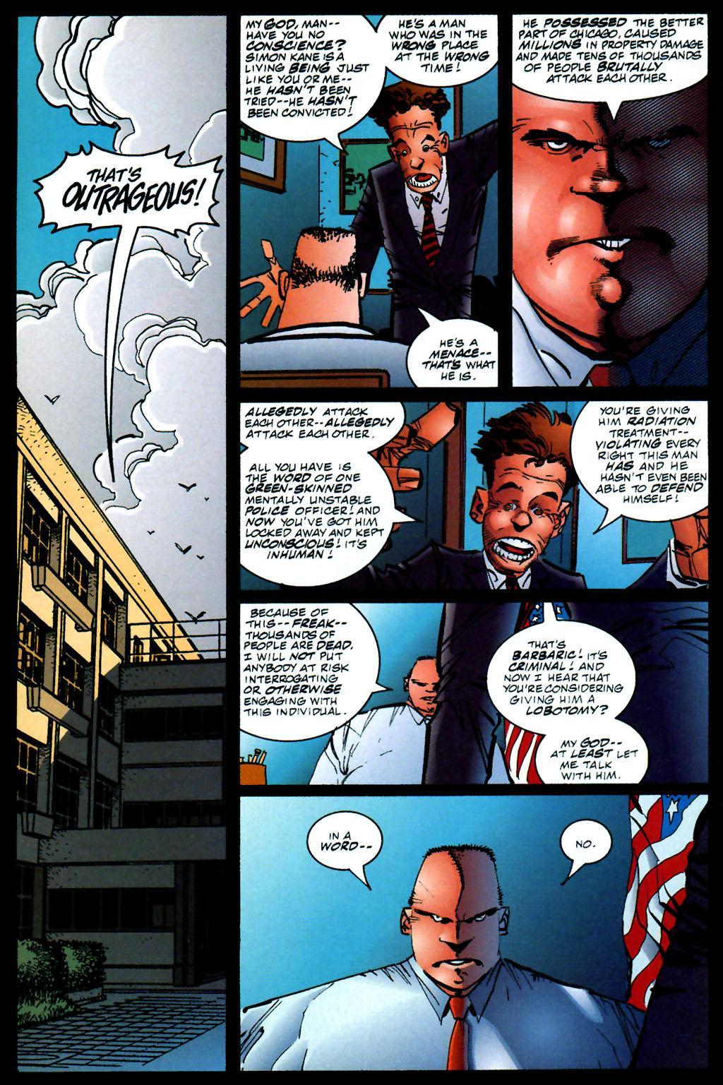 The Savage Dragon (1993) Issue #59 #62 - English 11