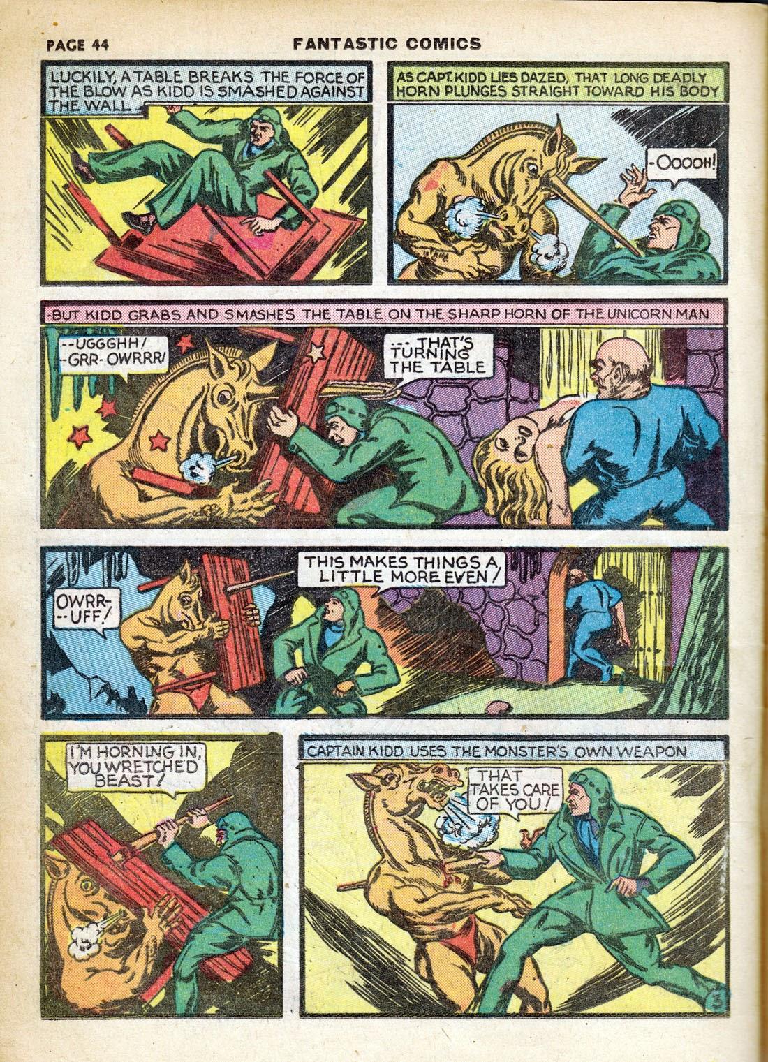 Read online Fantastic Comics comic -  Issue #7 - 46