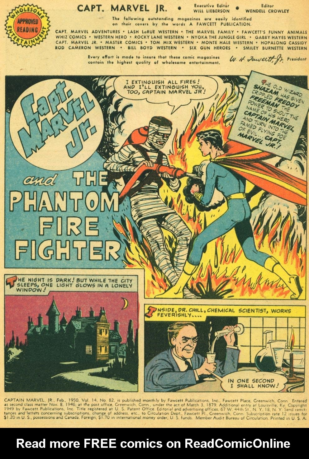 Captain Marvel, Jr. issue 82 - Page 3