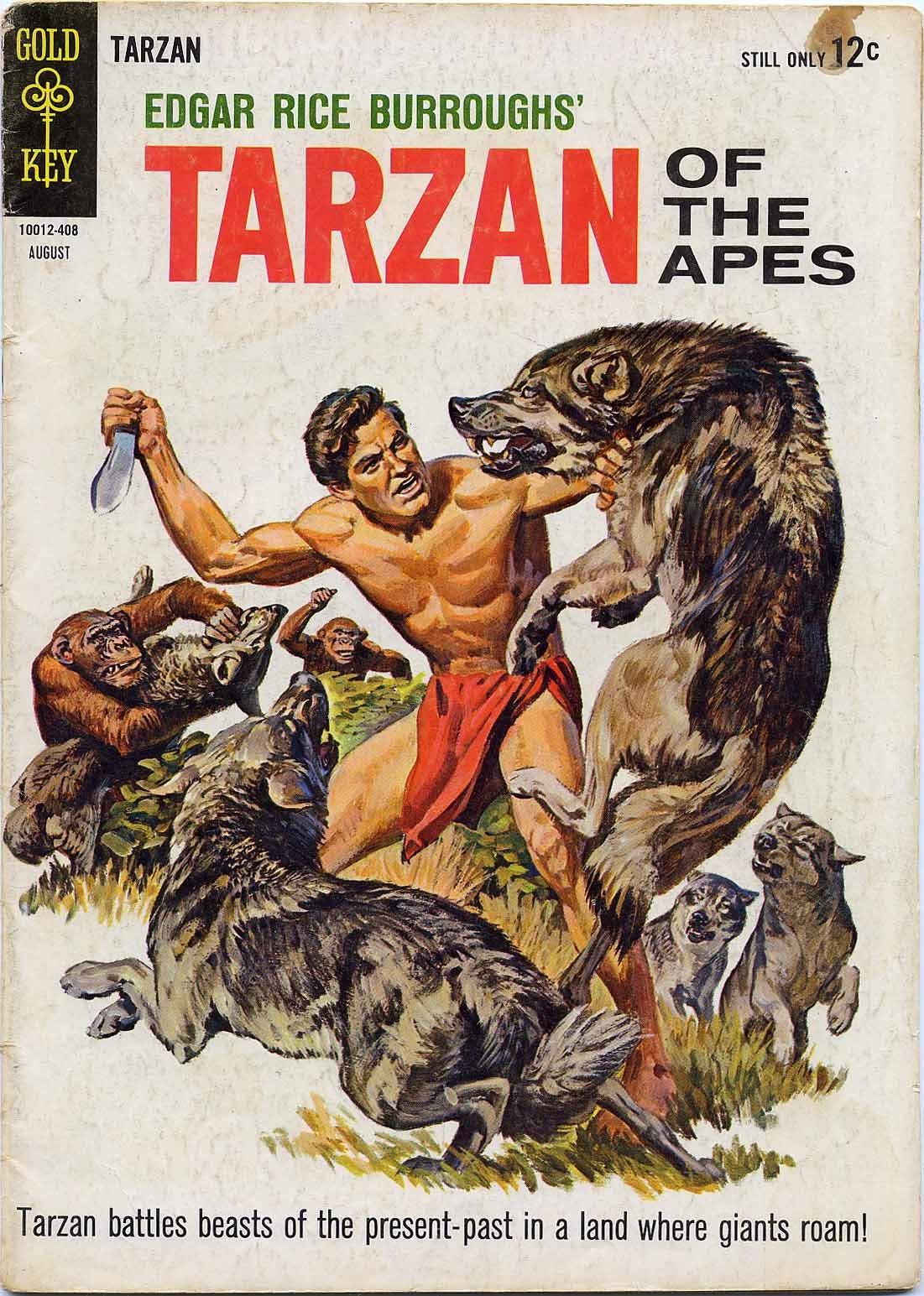 Tarzan (1962) issue 144 - Page 1