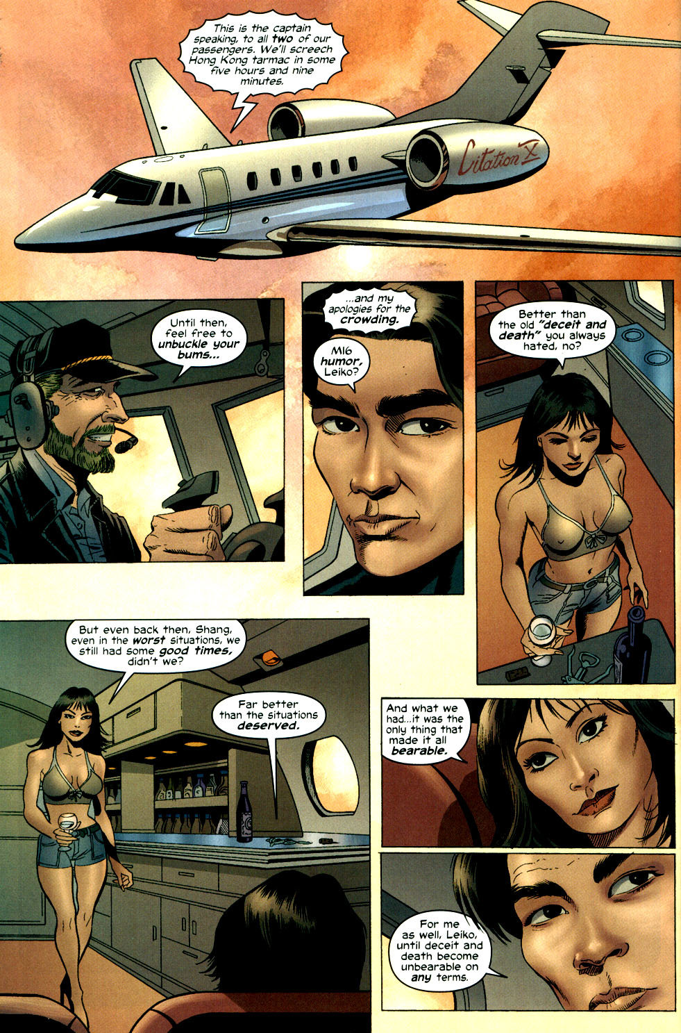Read online Shang-Chi: Master of Kung Fu comic -  Issue #3 - 22