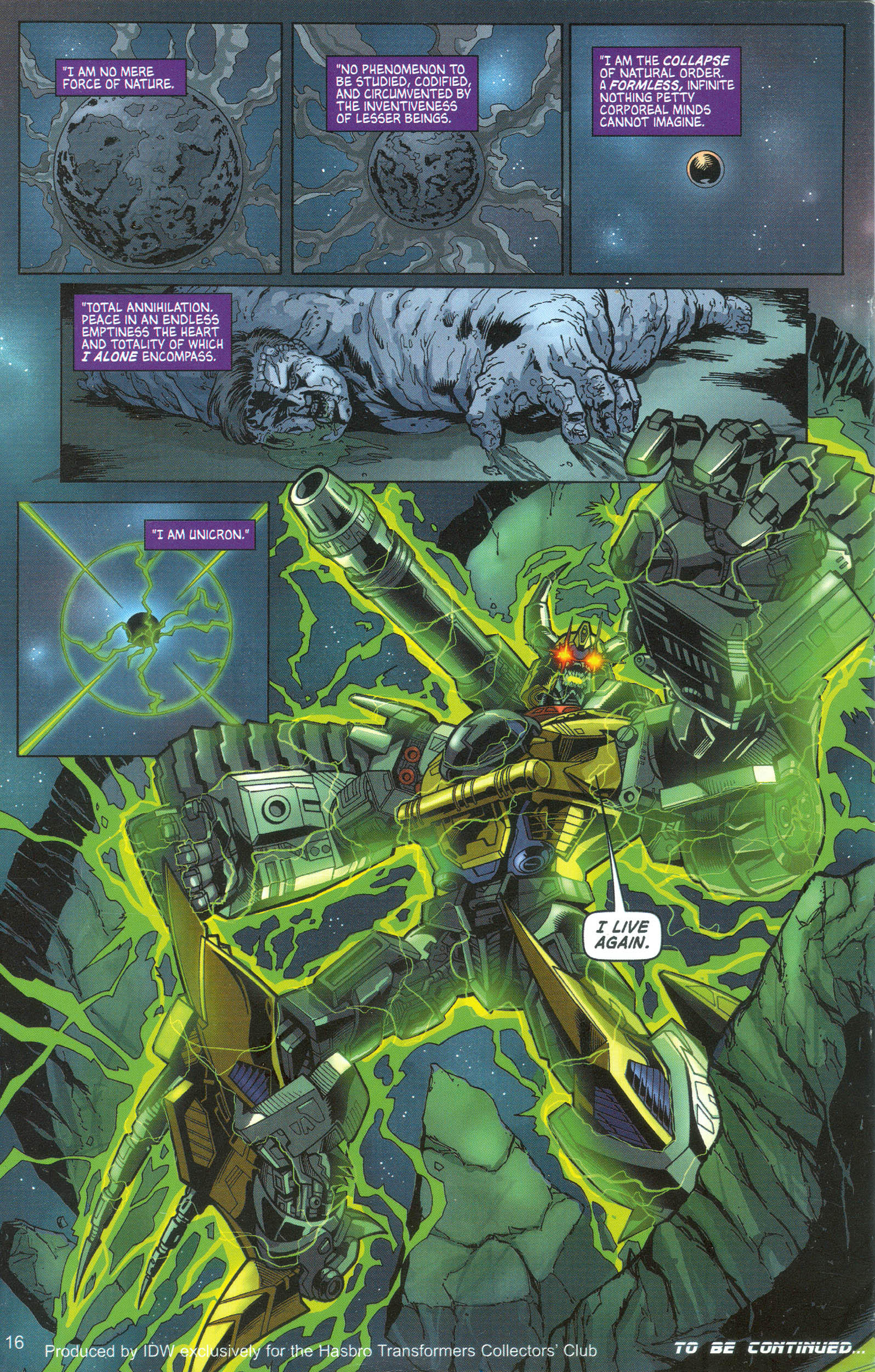 Read online Transformers: Collectors' Club comic -  Issue #9 - 16