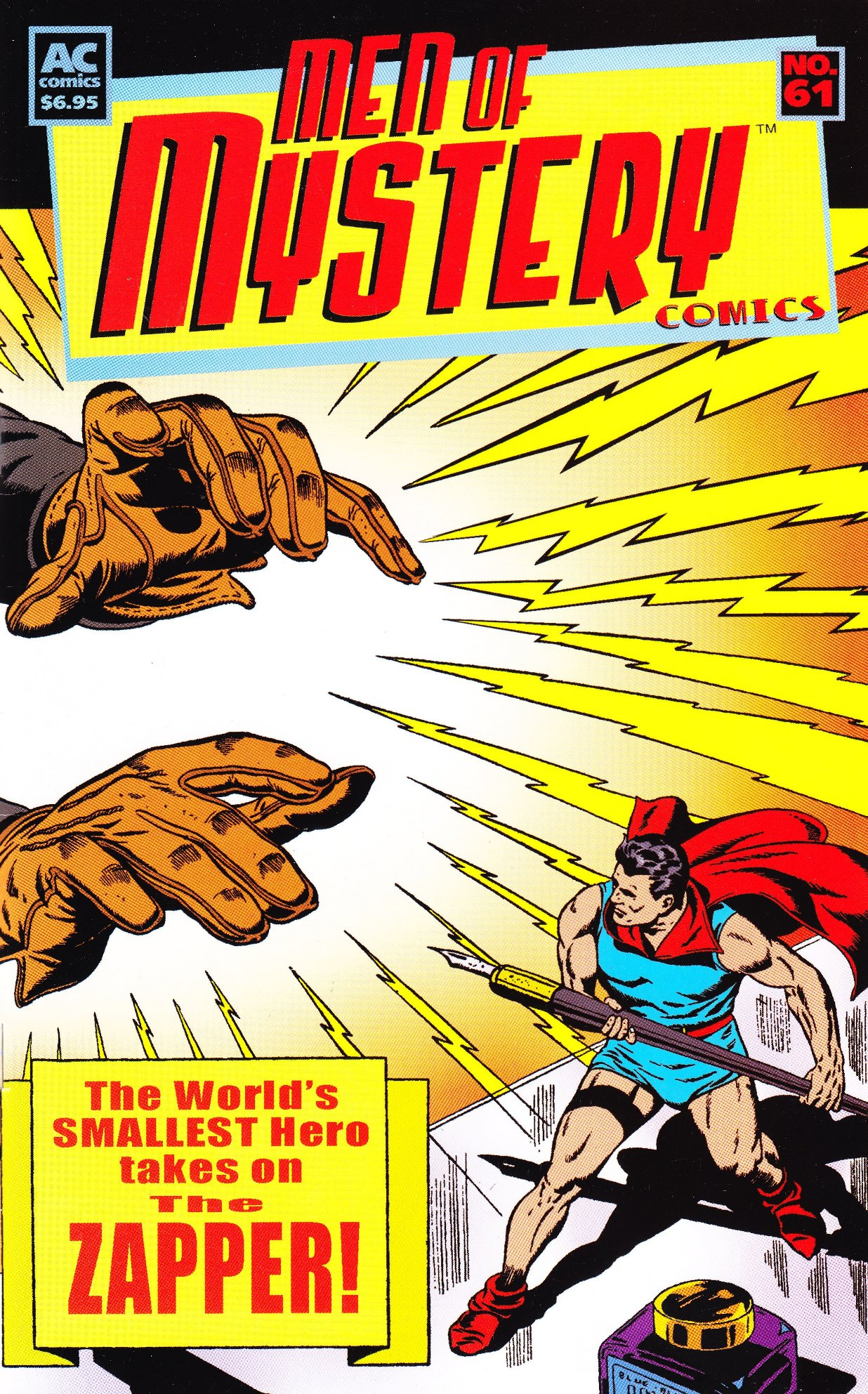 Read online Men of Mystery Comics comic -  Issue #61 - 1