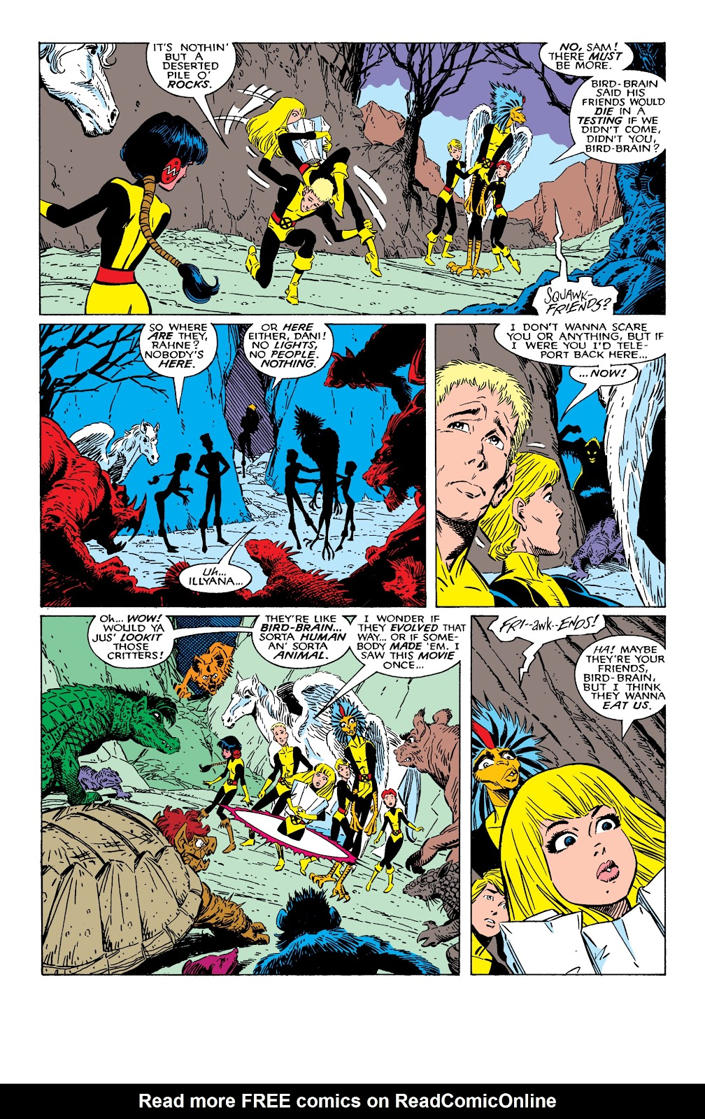 Read online X-Men Milestones: Fall of the Mutants comic -  Issue # TPB (Part 1) - 94