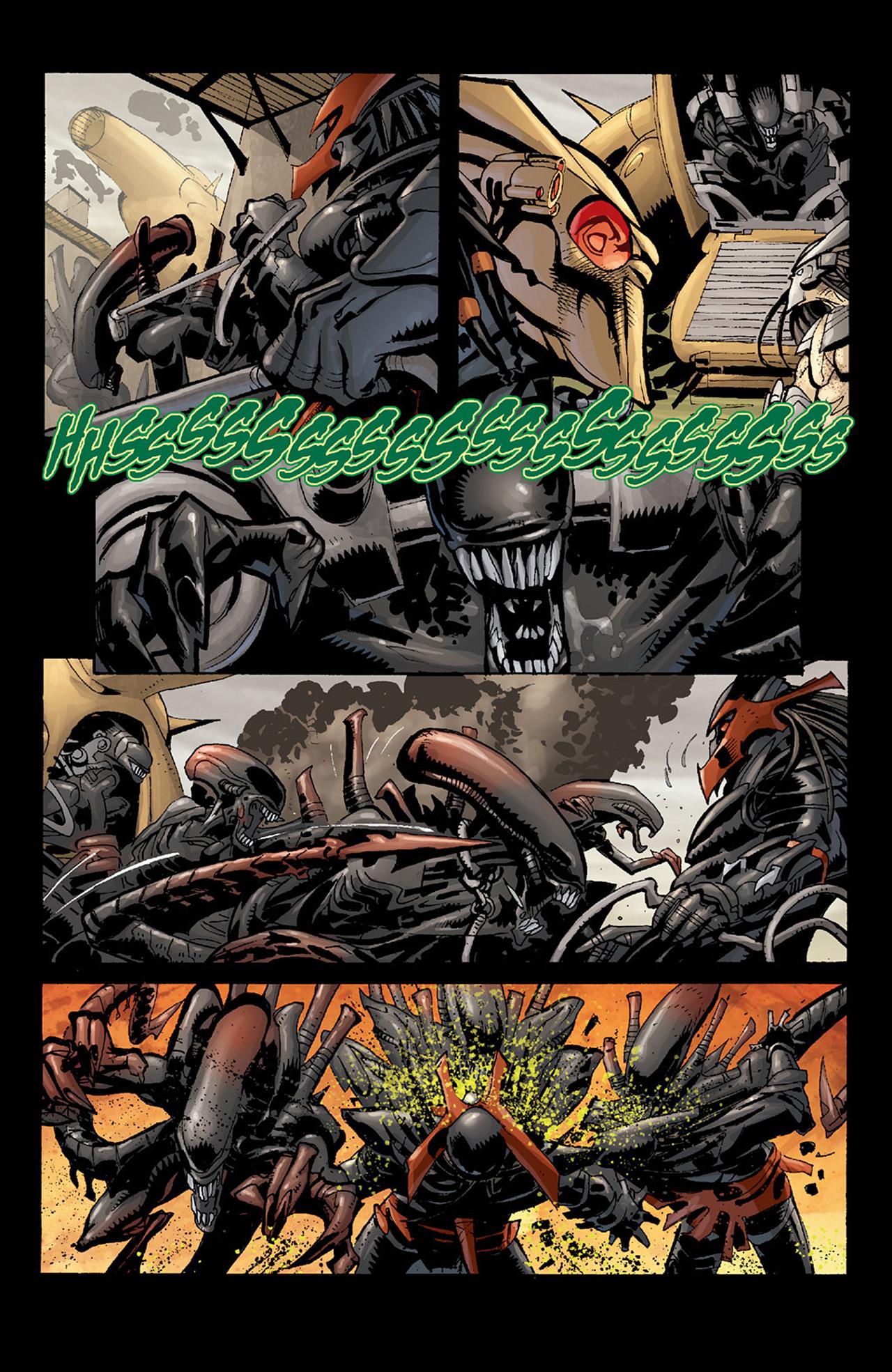 Read online Aliens vs. Predator: Three World War comic -  Issue #6 - 13