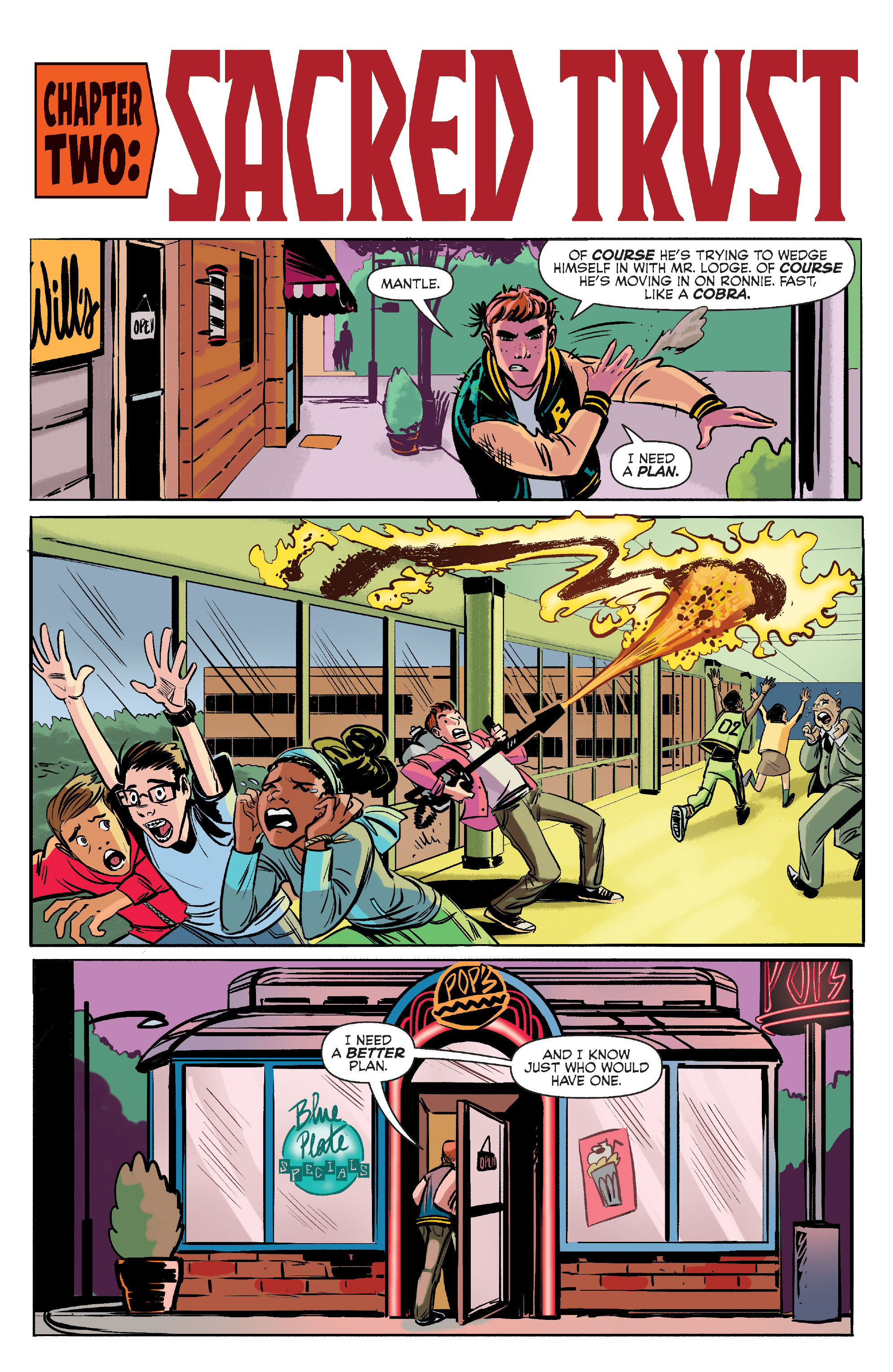 Read online Archie (2015) comic -  Issue #7 - 9