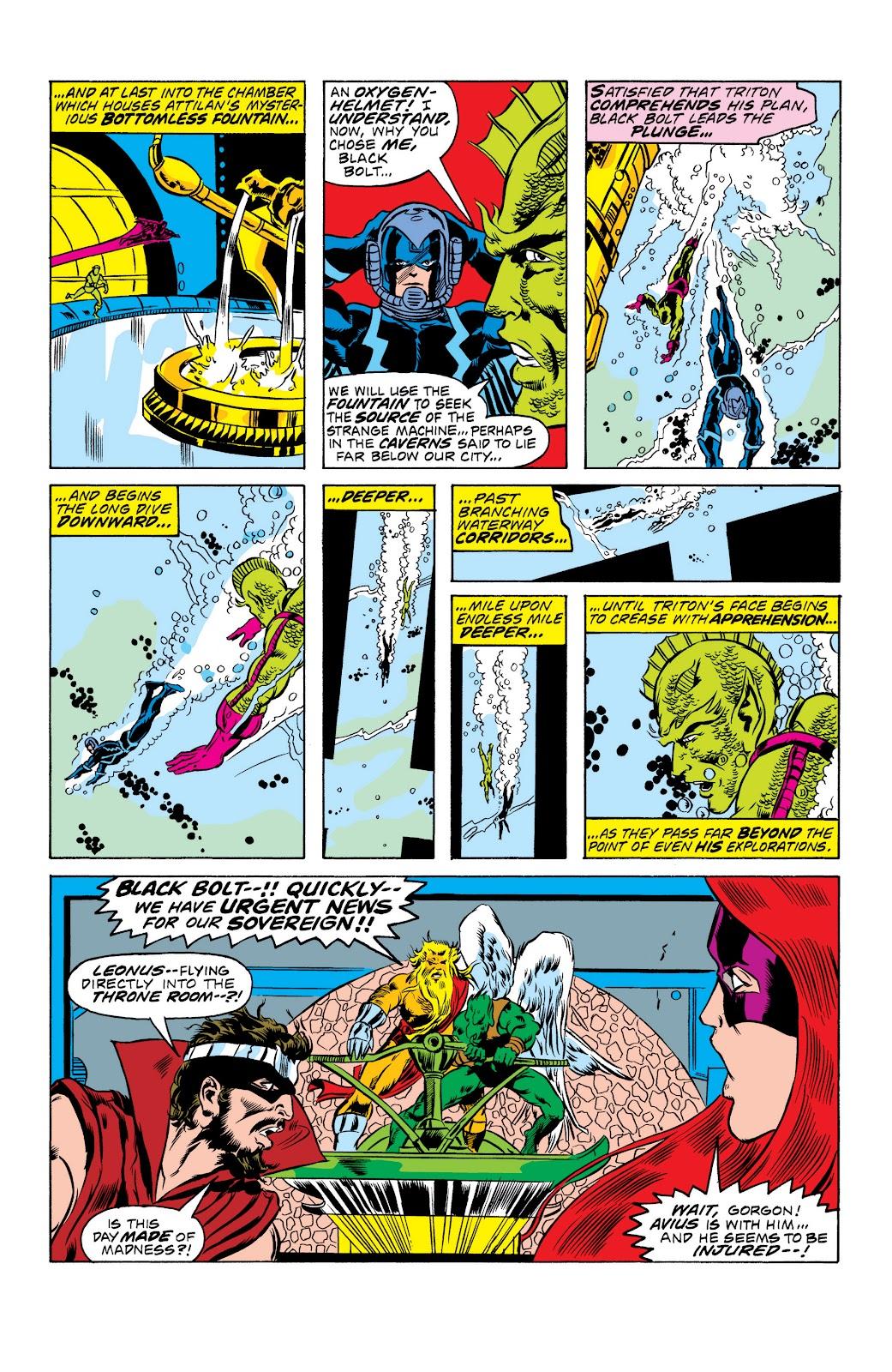 Read online Marvel Masterworks: The Inhumans comic -  Issue # TPB 2 (Part 1) - 21