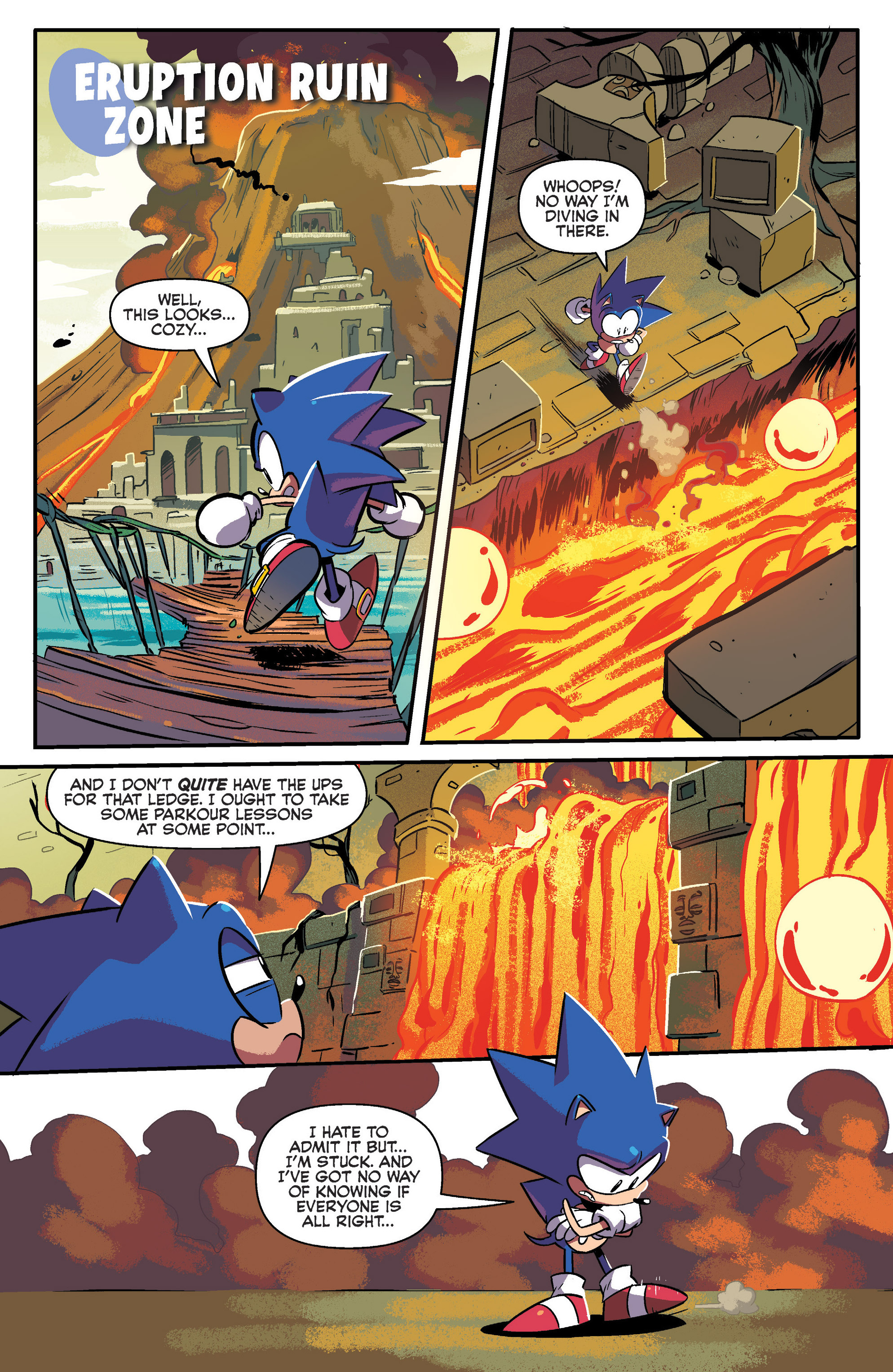 Read online Sonic: Mega Drive - The Next Level comic -  Issue # Full - 15