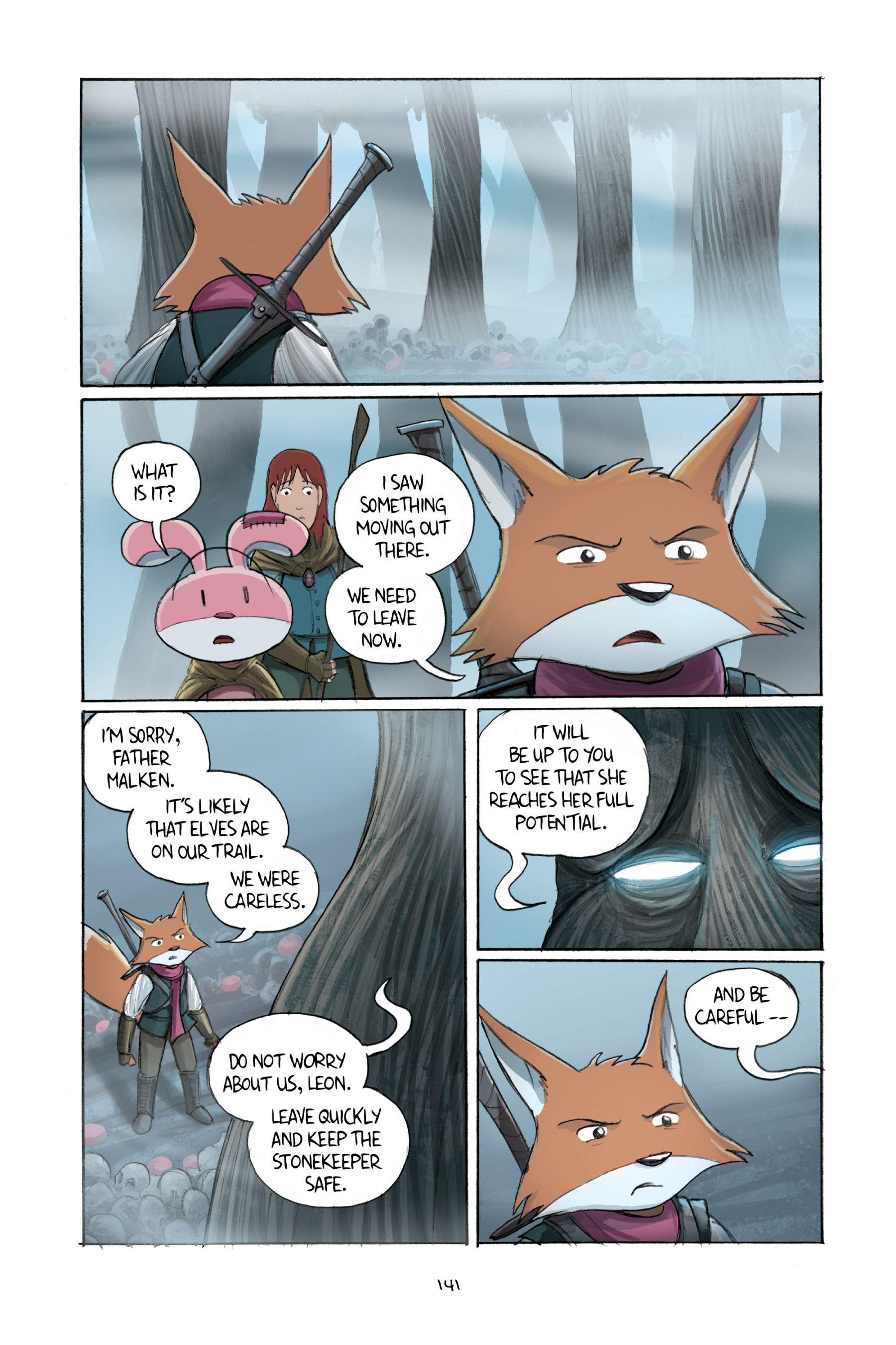 Read online Amulet comic -  Issue #2 - 140