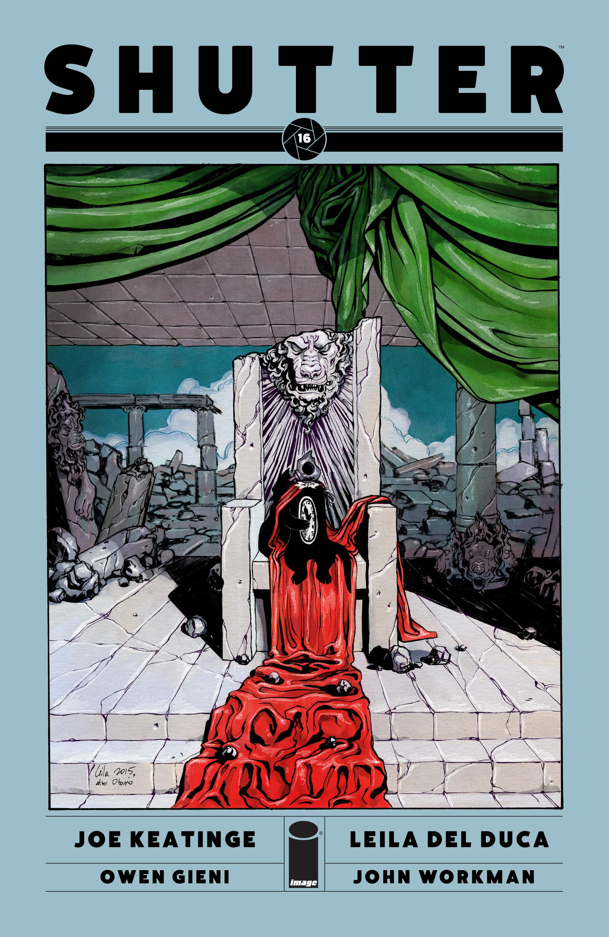 Read online Shutter comic -  Issue #16 - 1