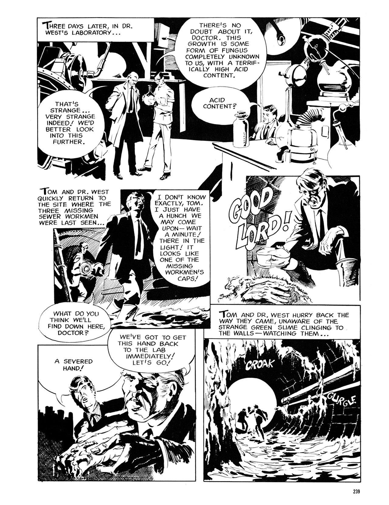 Read online Eerie Archives comic -  Issue # TPB 6 - 238