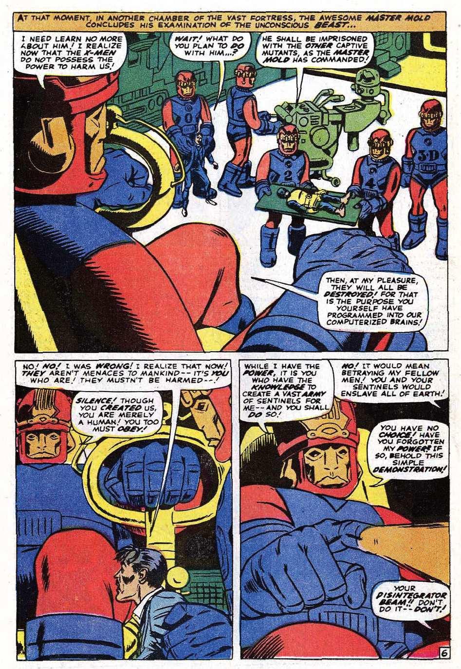 Read online Uncanny X-Men (1963) comic -  Issue #69 - 8