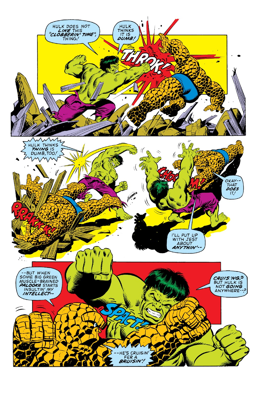 Read online Marvel Two-In-One Epic Collection: Cry Monster comic -  Issue # TPB (Part 1) - 18