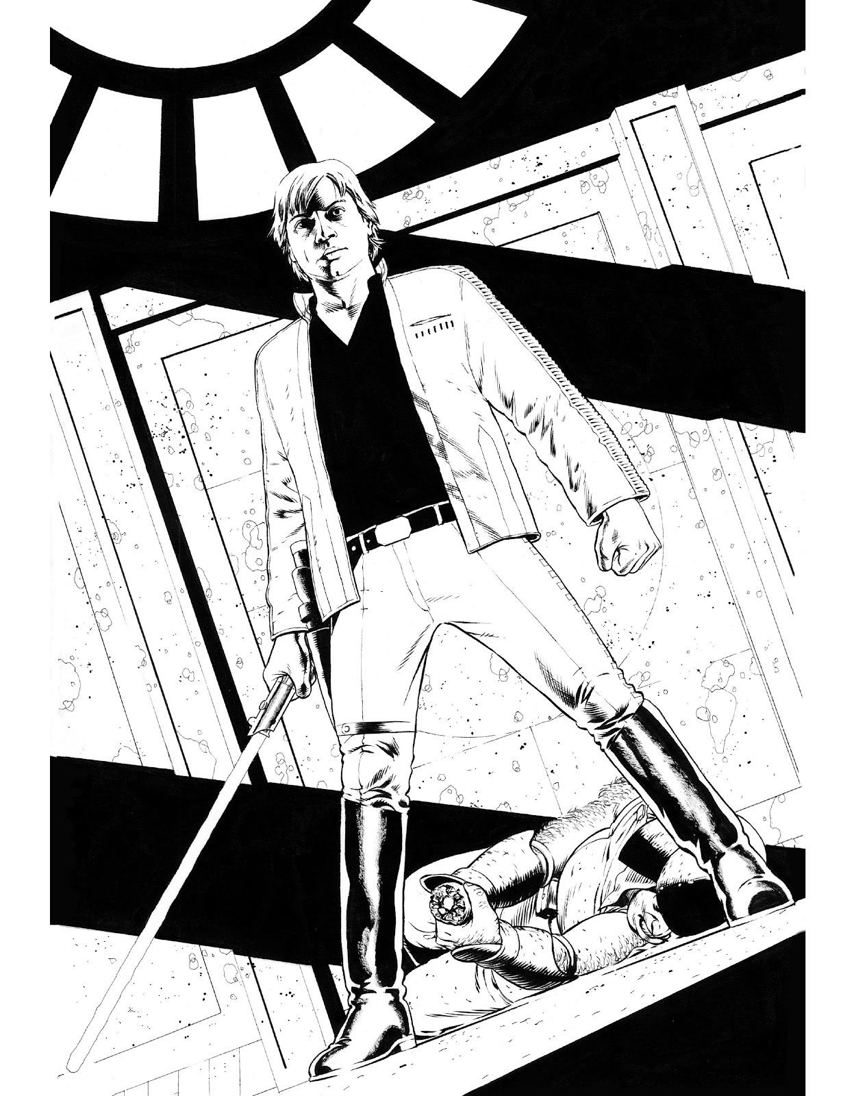 Read online The Marvel Art of Star Wars comic -  Issue # TPB (Part 1) - 19
