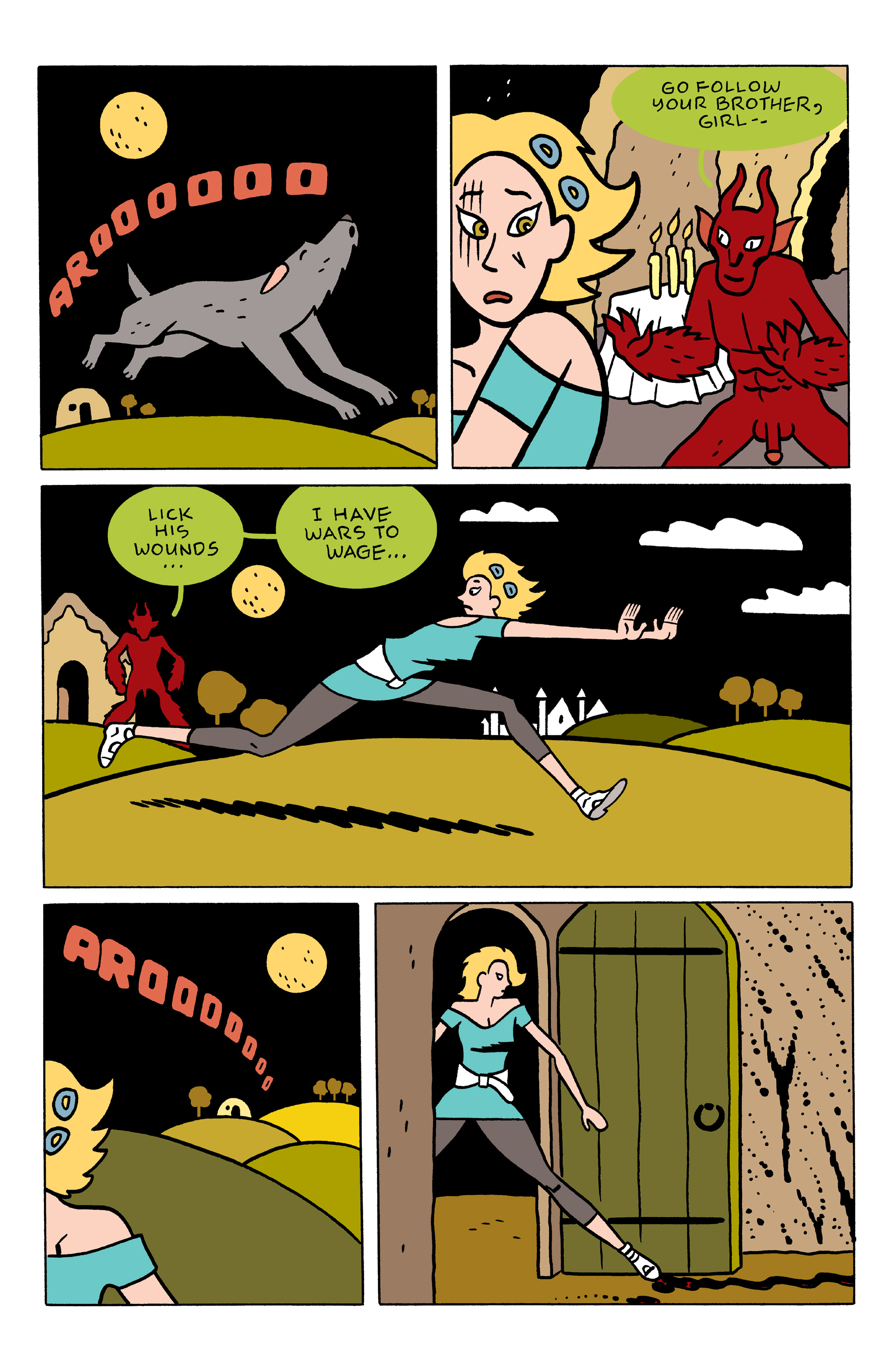 Read online She Wolf comic -  Issue #3 - 13