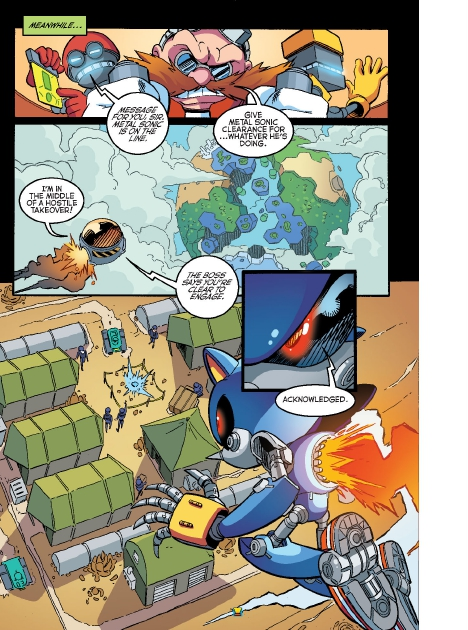 Read online Sonic Comics Spectacular: Speed of Sound comic -  Issue # Full - 100