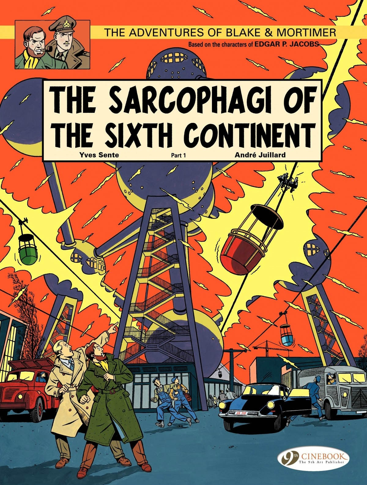 The Adventures of Blake & Mortimer 9 Page 1