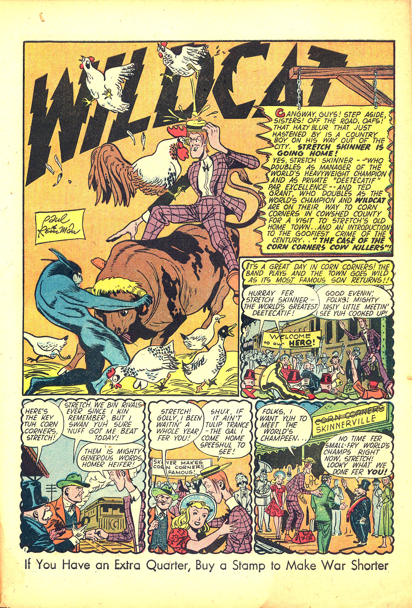 Read online Sensation (Mystery) Comics comic -  Issue #31 - 49