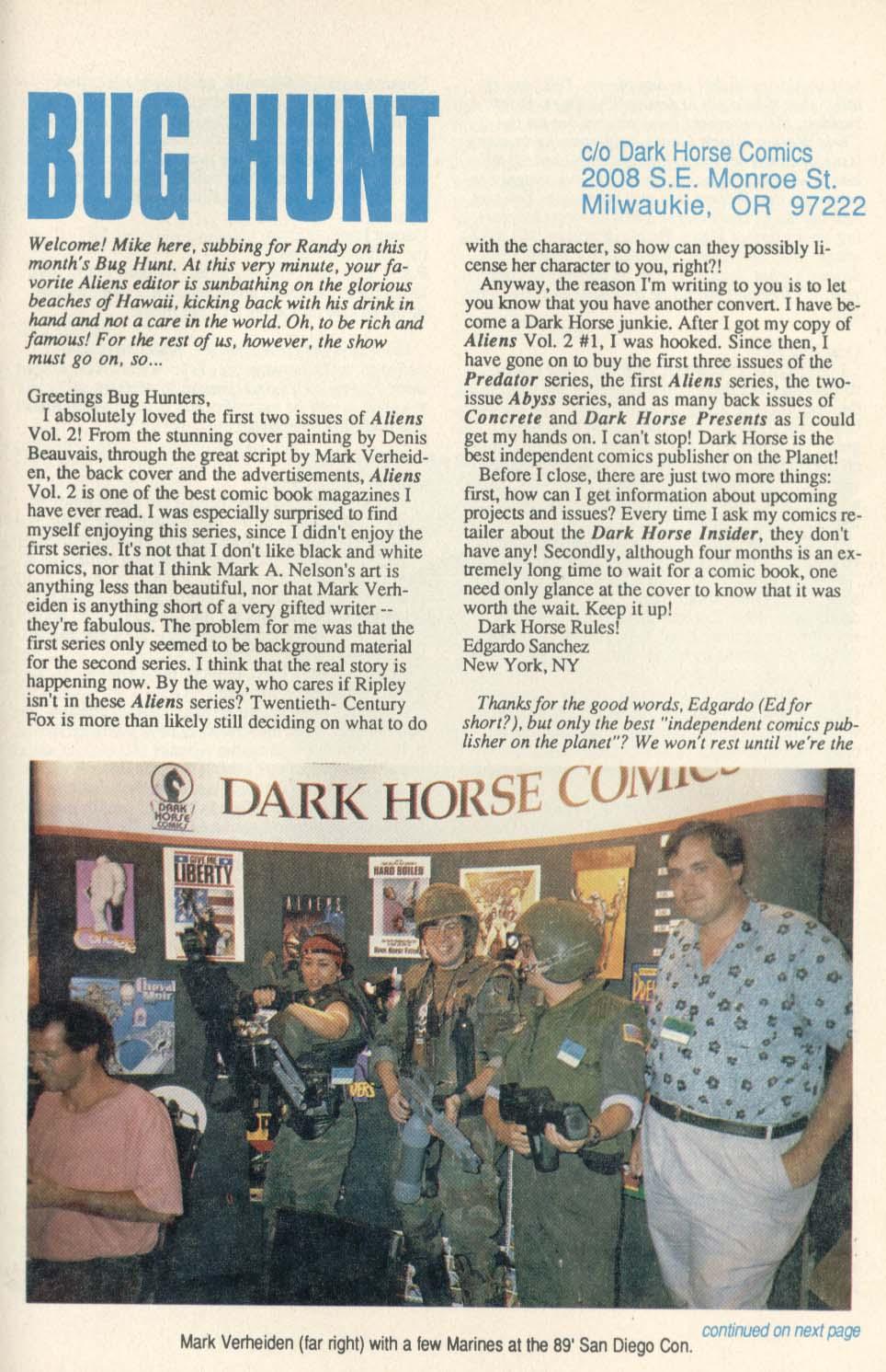 Read online Aliens (1989) comic -  Issue #4 - 27