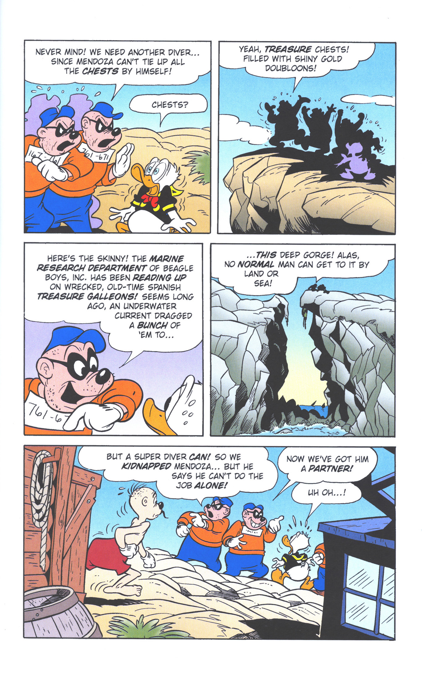 Read online Uncle Scrooge (1953) comic -  Issue #378 - 23