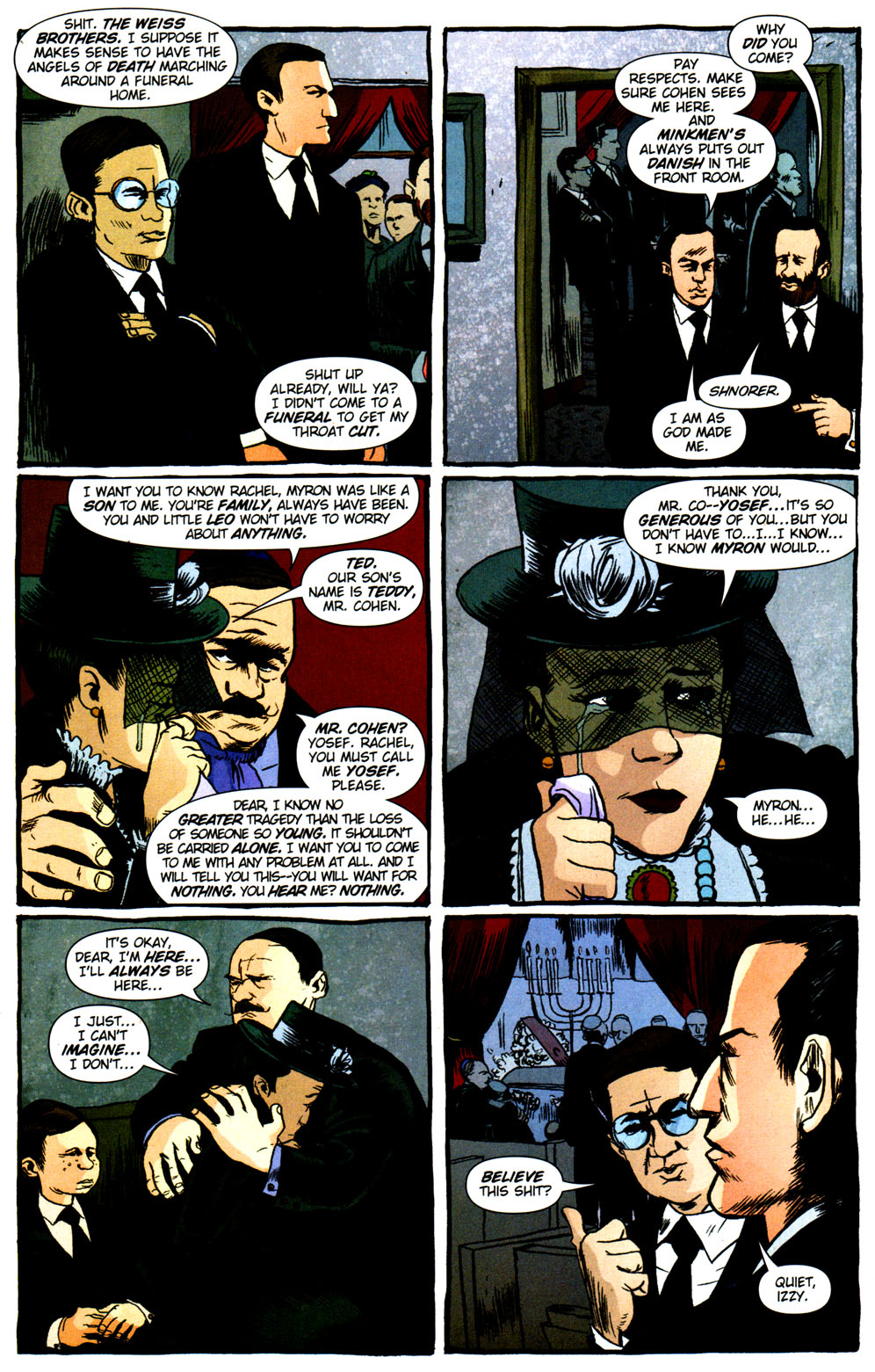 Read online Caper comic -  Issue #2 - 6