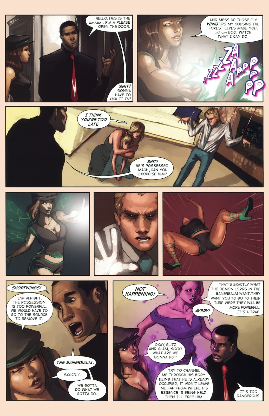Read online Vescell comic -  Issue #1 - 29