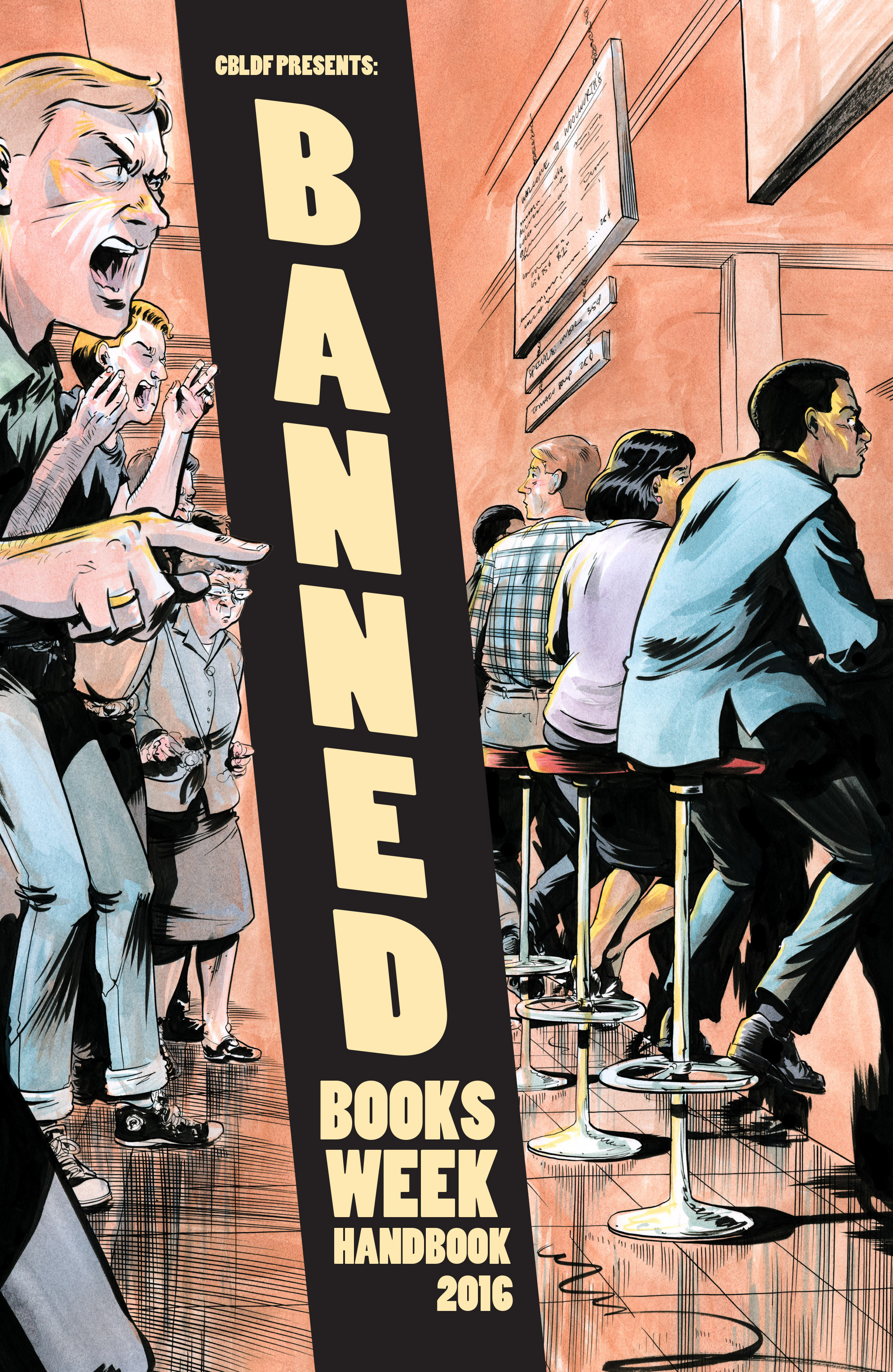 Read online CBLDF Banned Books Week Handbook 2016 comic -  Issue # Full - 1