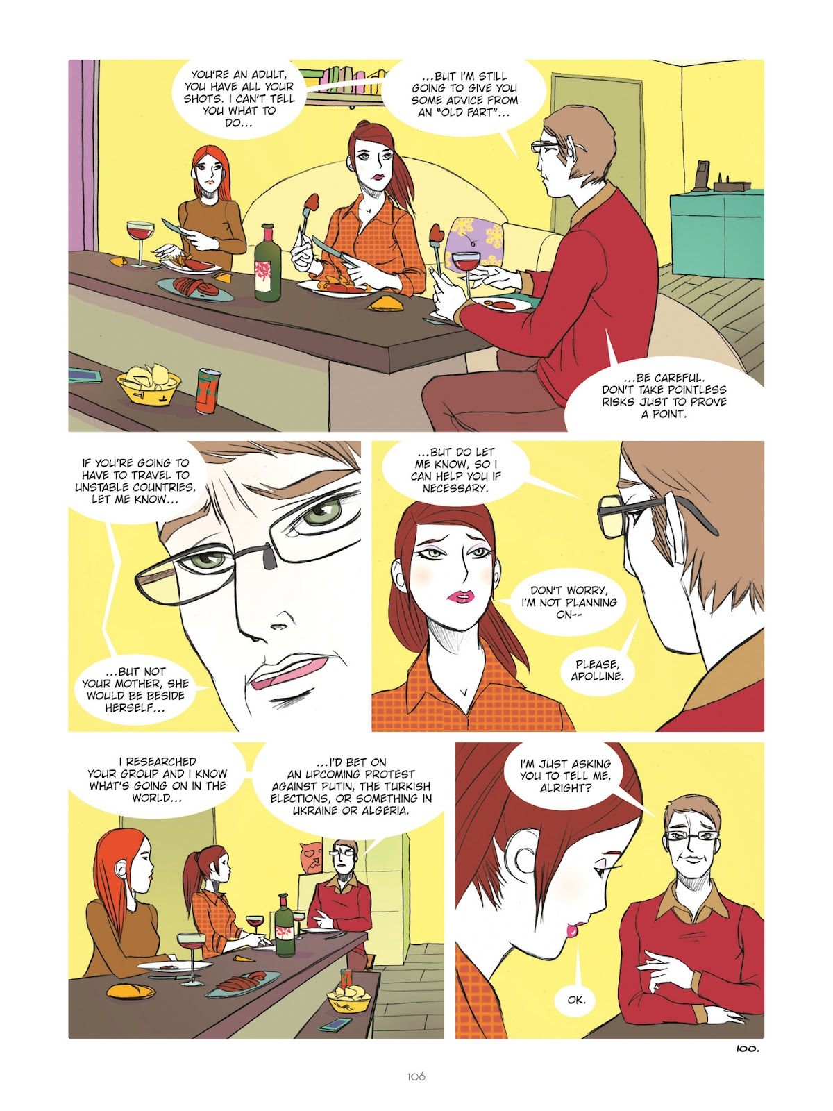 Read online Diary of A Femen comic -  Issue # TPB - 108