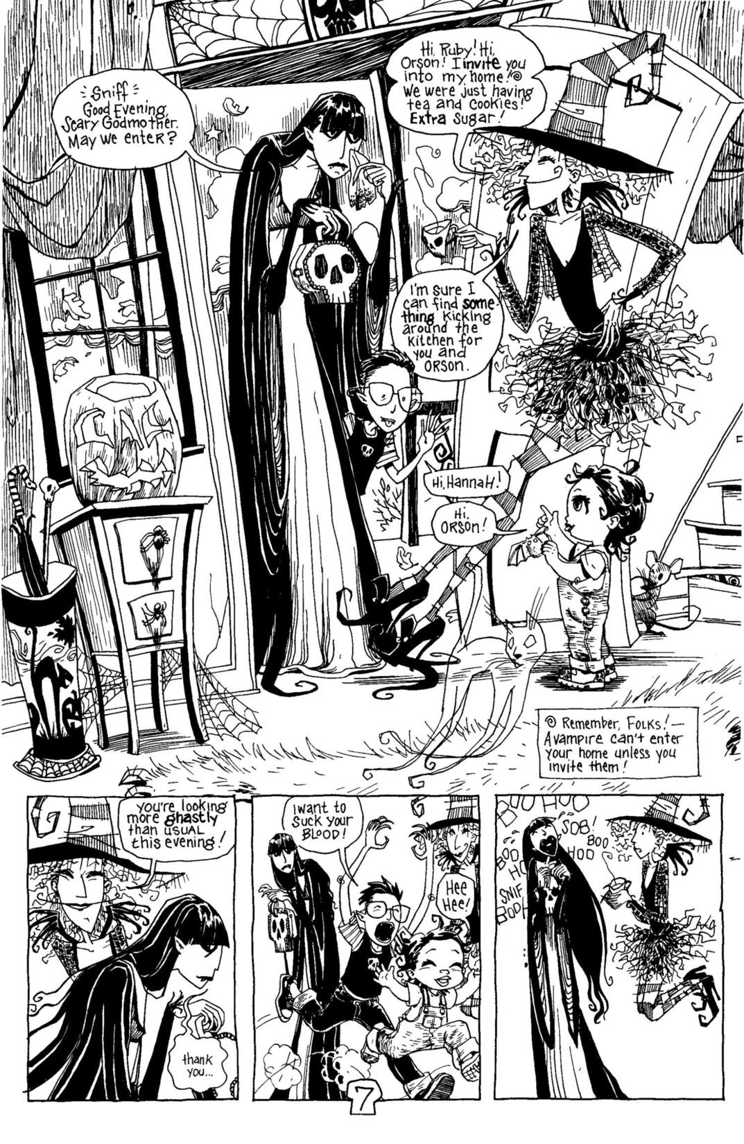 Read online Scary Godmother Comic Book Stories comic -  Issue # TPB - 8