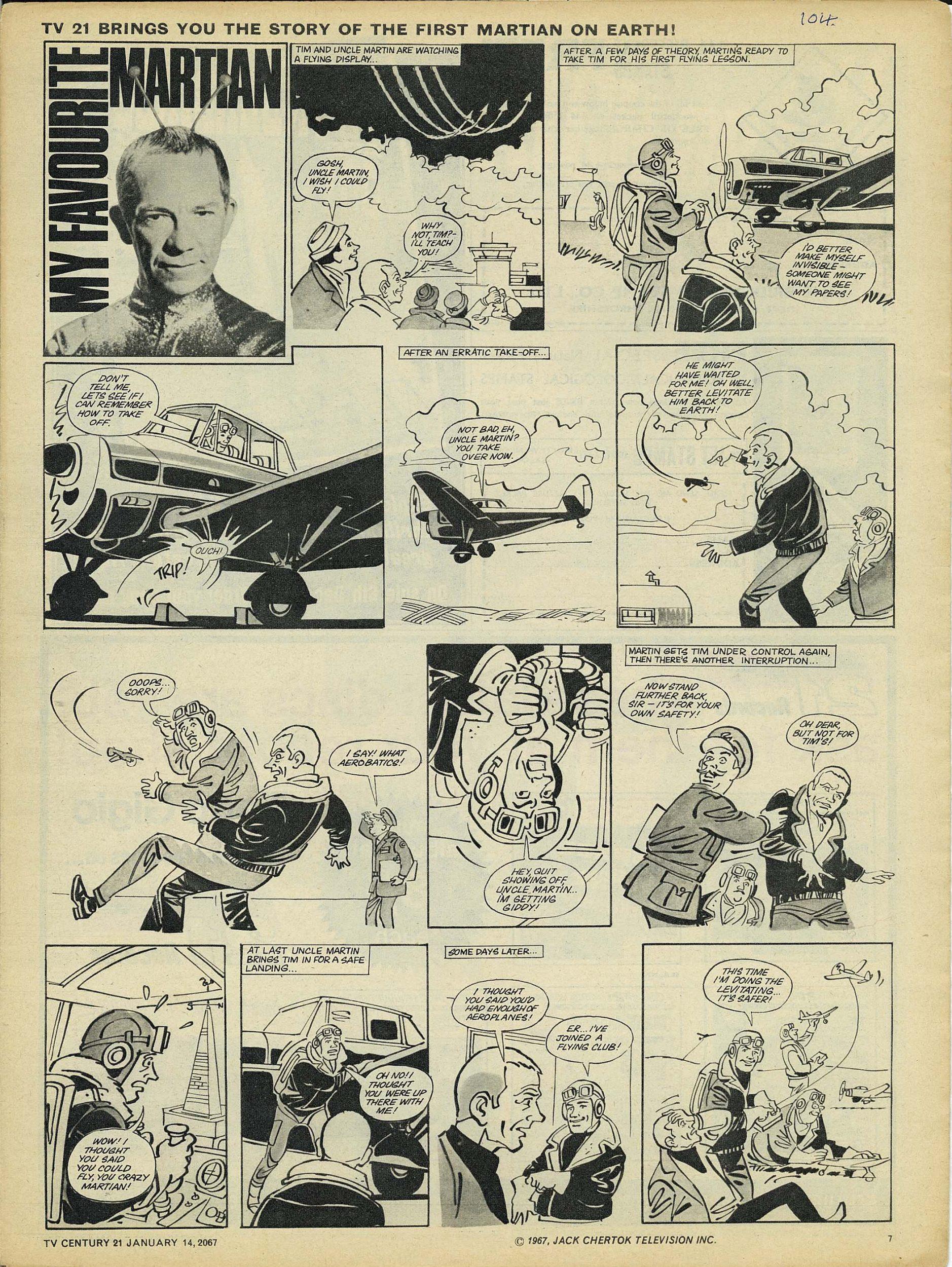 Read online TV Century 21 (TV 21) comic -  Issue #104 - 7