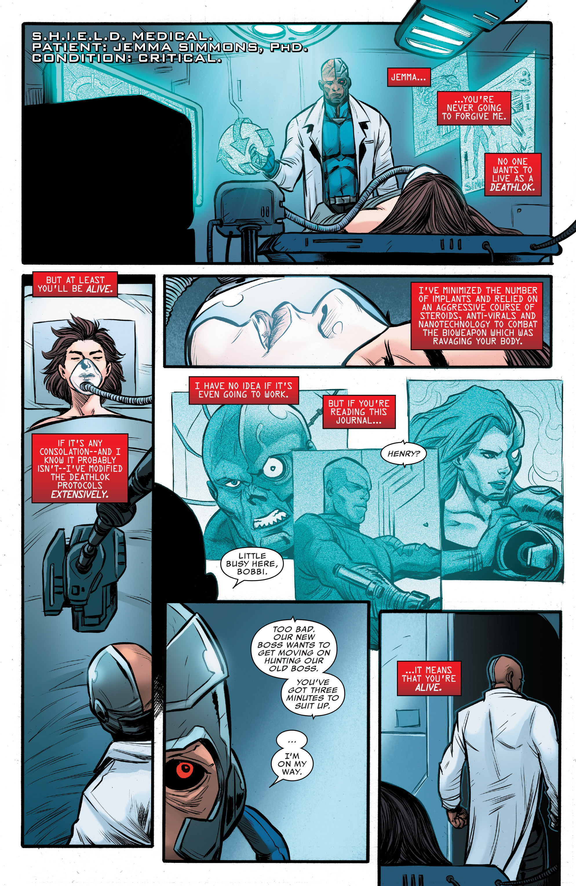 Read online Agents of S.H.I.E.L.D. comic -  Issue #9 - 12