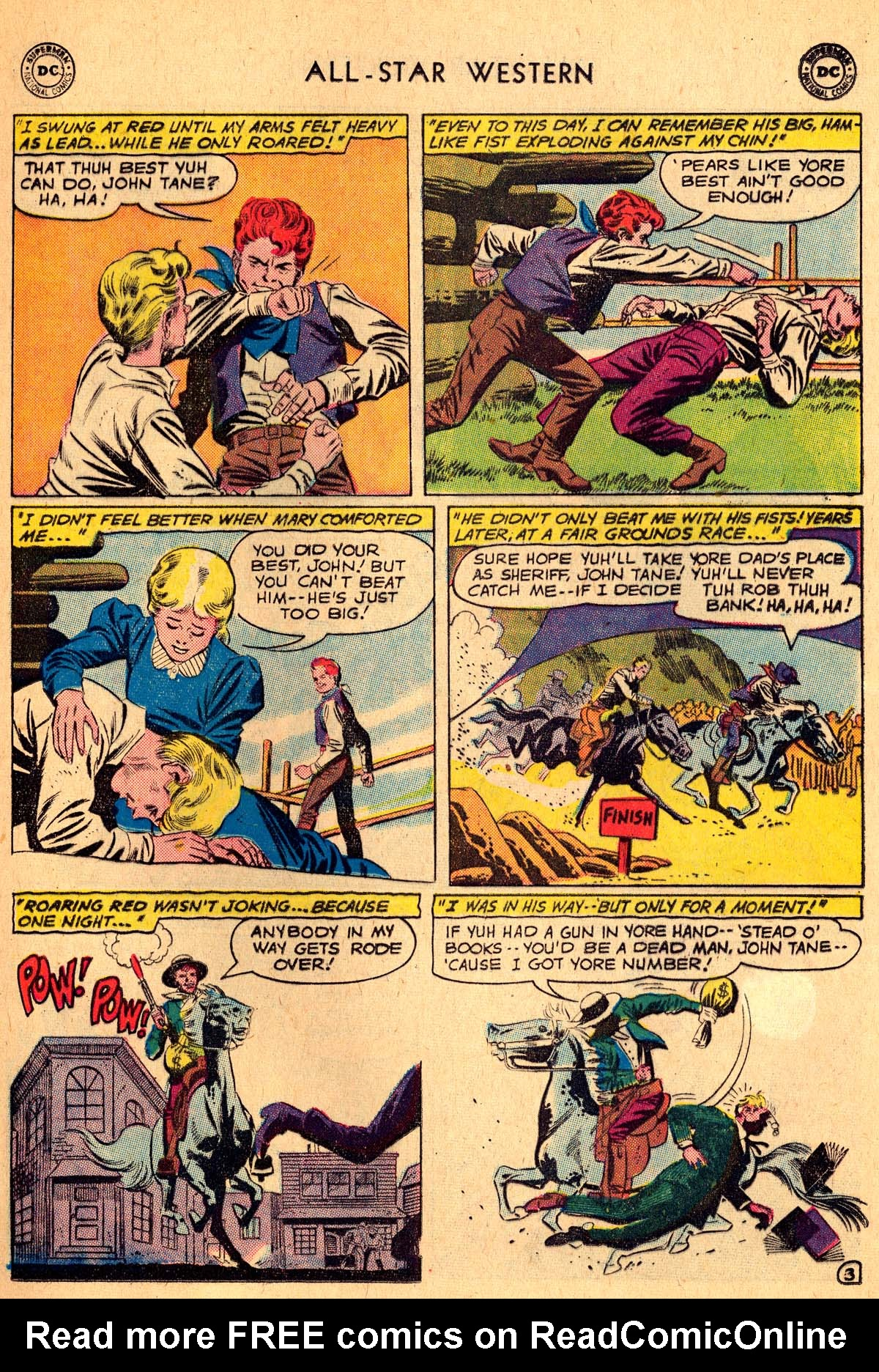 Read online All-Star Western (1951) comic -  Issue #115 - 5