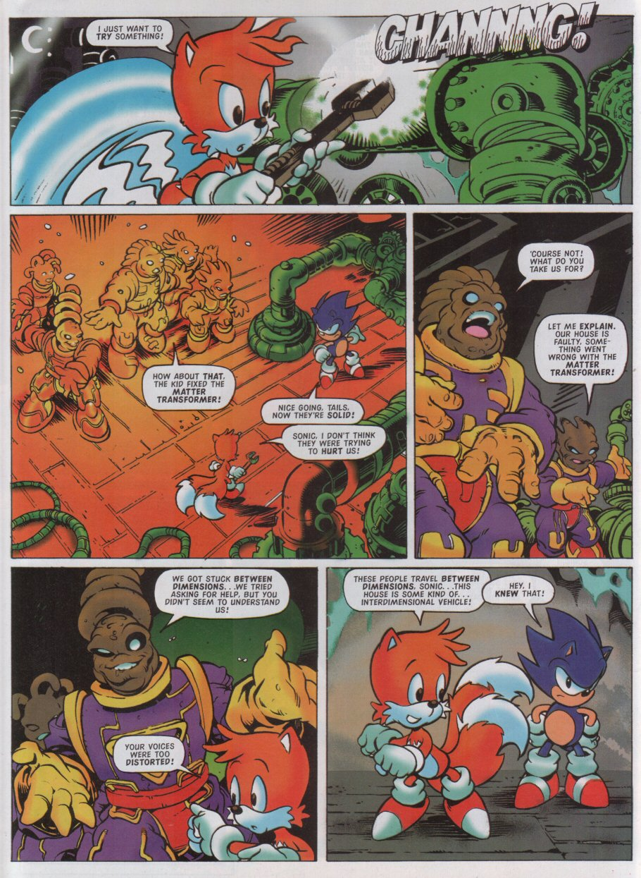 Read online Sonic the Comic comic -  Issue #126 - 8