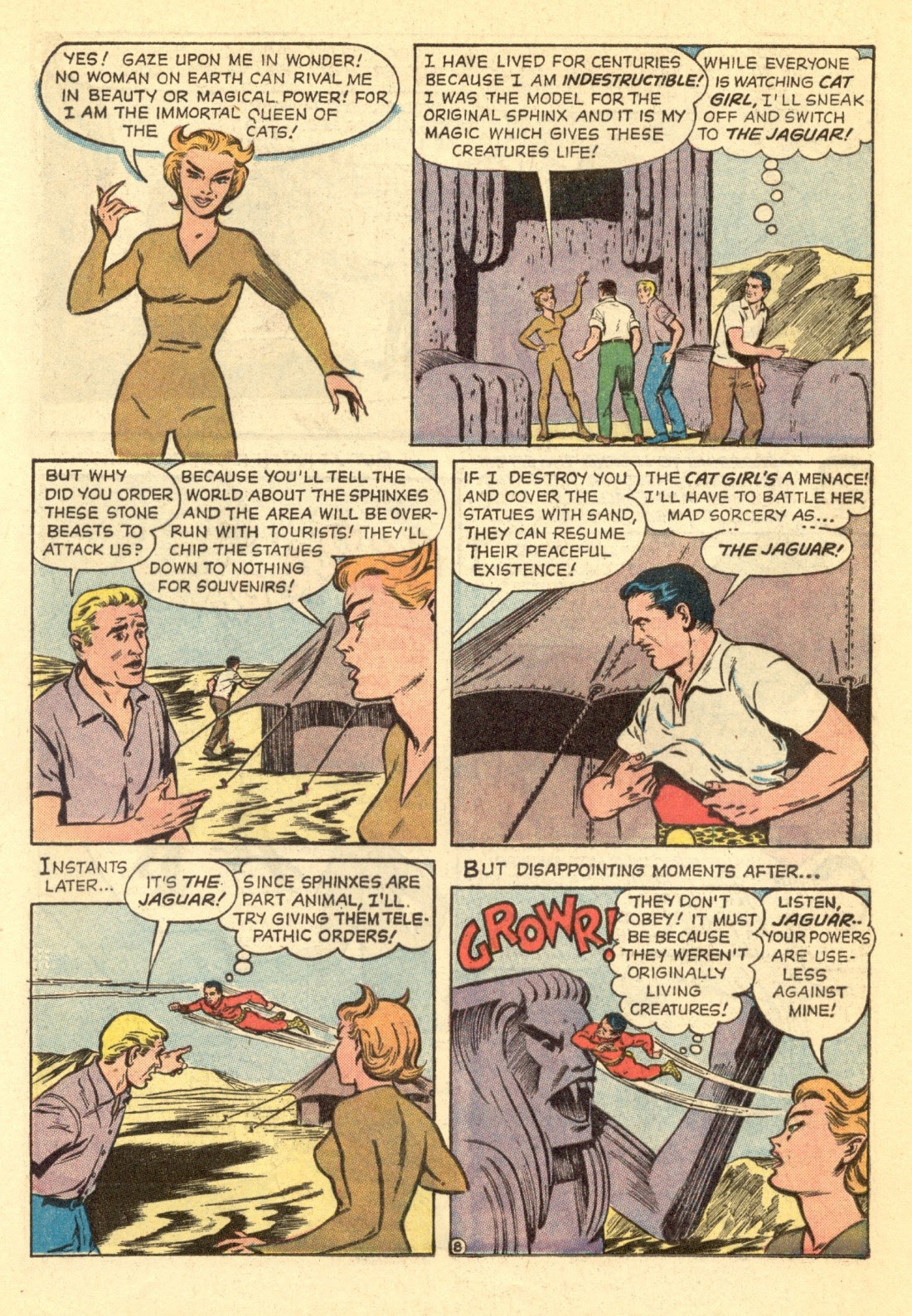 Adventures of the Jaguar issue 4 - Page 20
