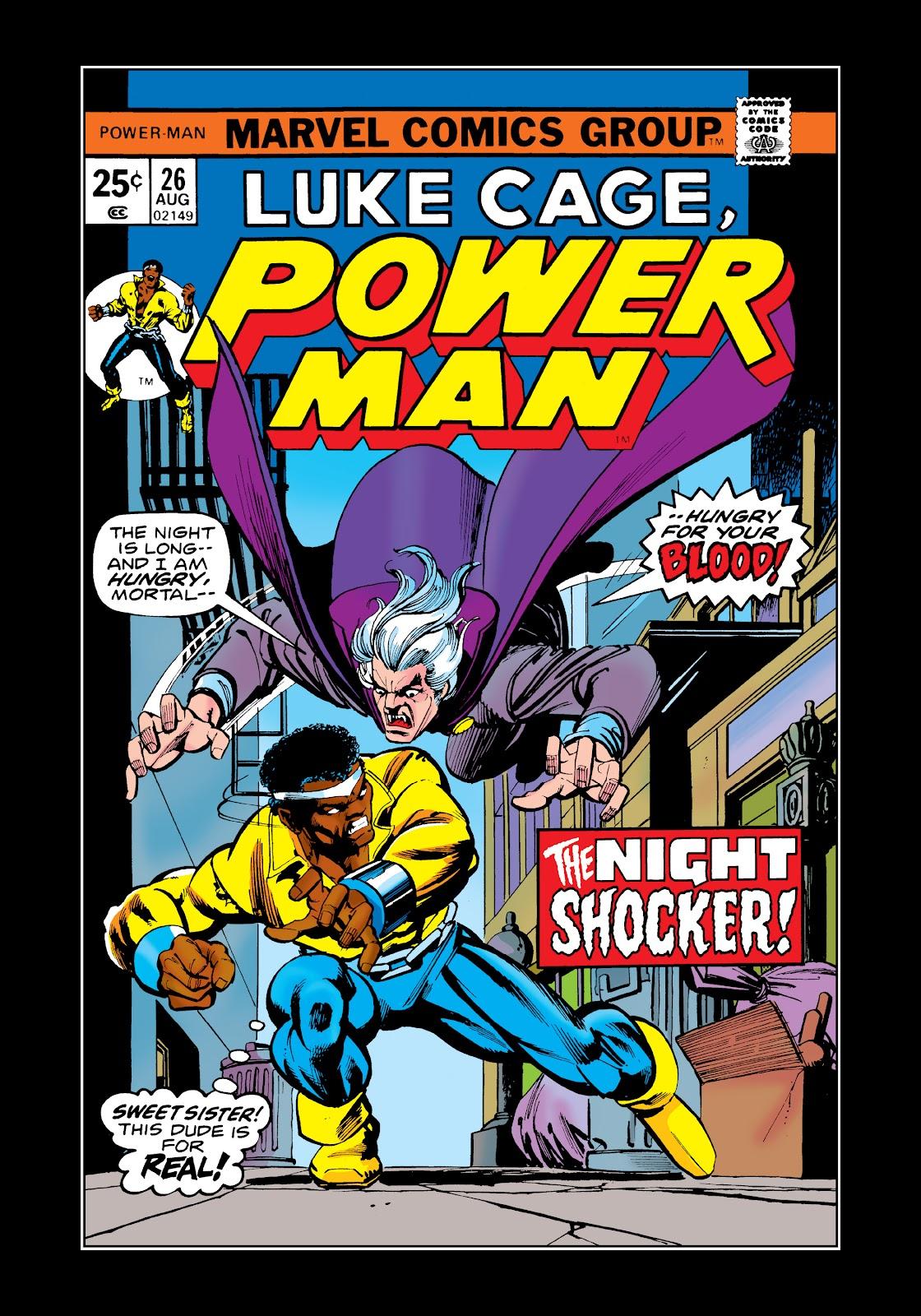 Read online Marvel Masterworks: Luke Cage, Power Man comic -  Issue # TPB 2 (Part 2) - 81