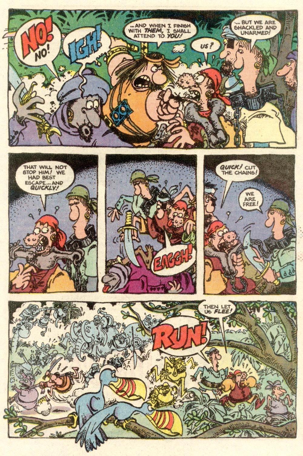 Read online Sergio Aragonés Groo the Wanderer comic -  Issue #5 - 20