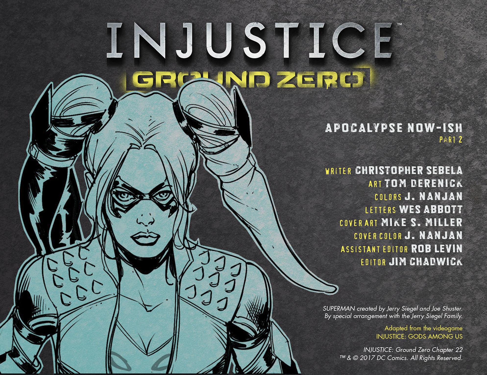 Read online Injustice: Ground Zero comic -  Issue #22 - 3
