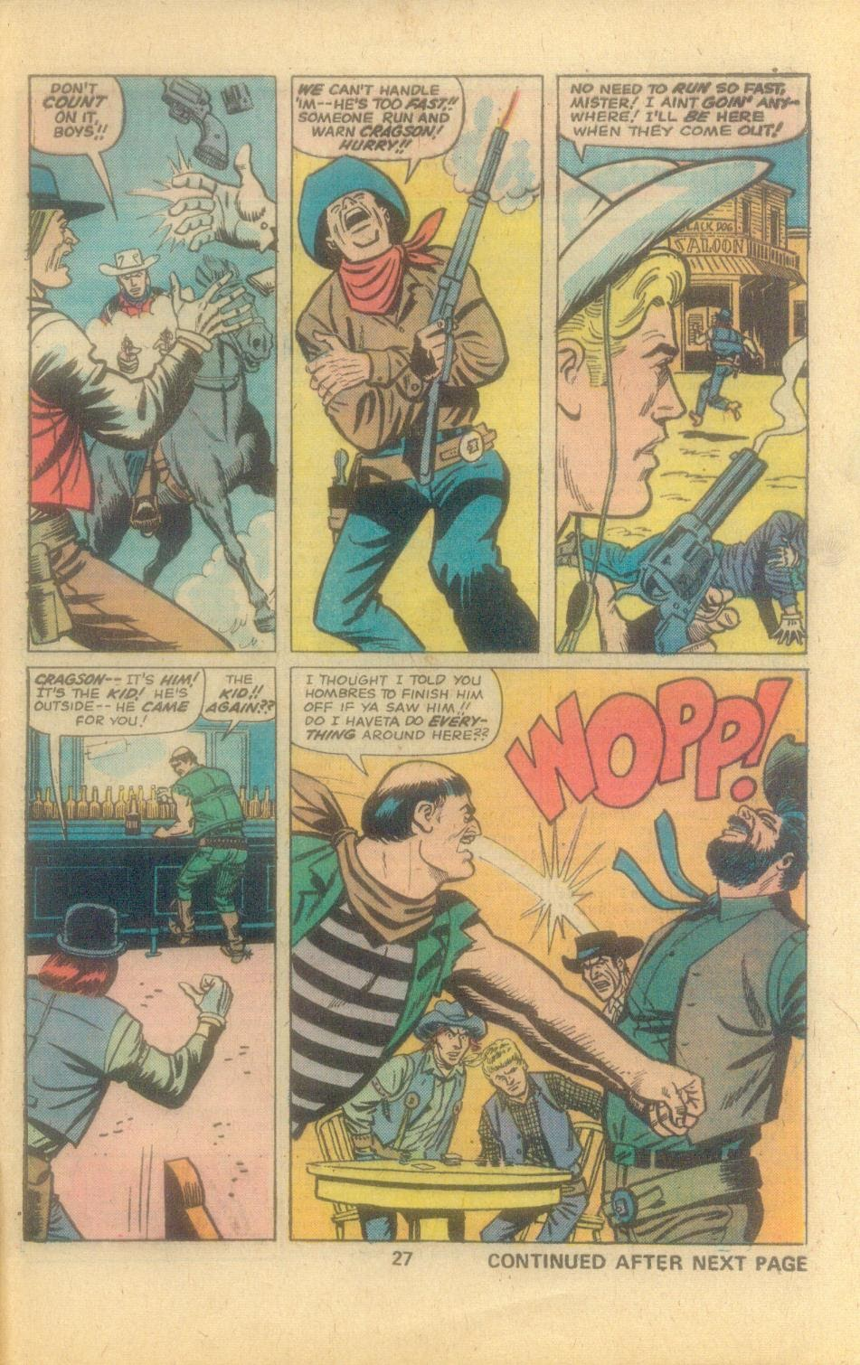 Kid Colt Outlaw issue 194 - Page 29